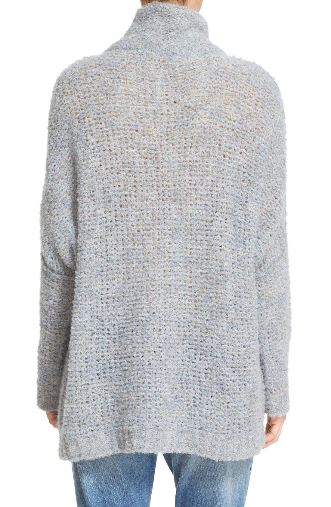 'She's All That' Knit Turtleneck Sweater,                             Alternate thumbnail 13, color,