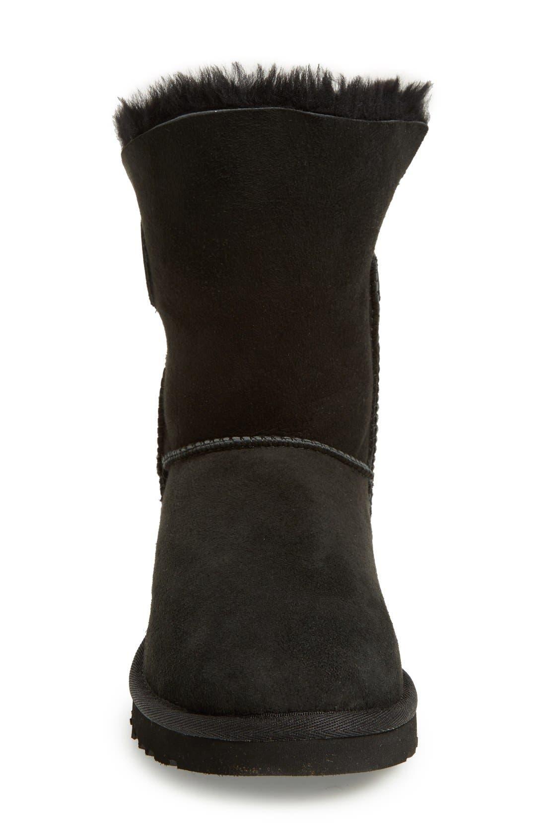 UGG<SUP>®</SUP>,                             Nash Genuine Shearling Boot,                             Alternate thumbnail 4, color,                             001