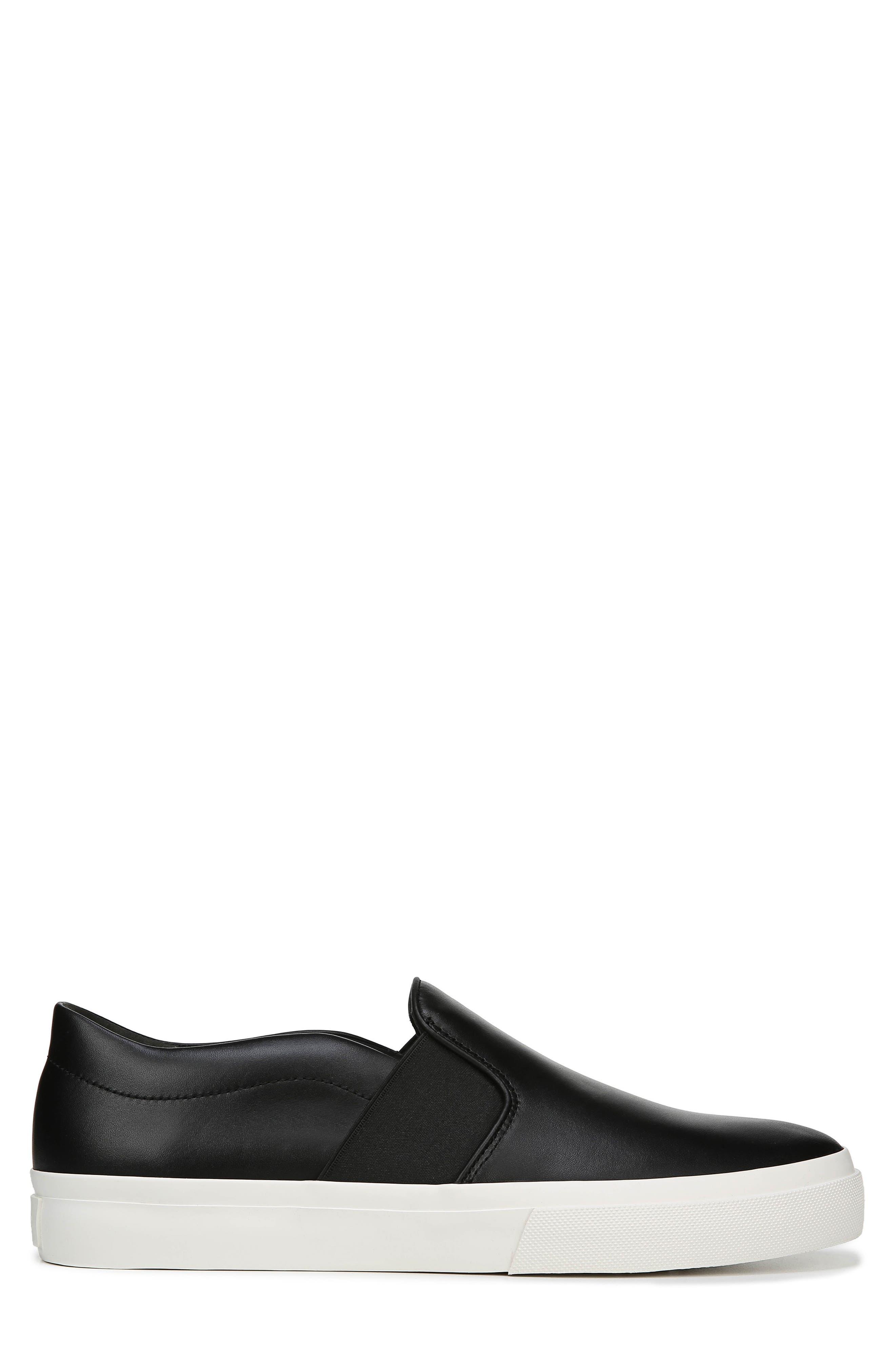 Fenton Slip-On  Sneaker,                             Alternate thumbnail 3, color,                             BLACK/ BLACK