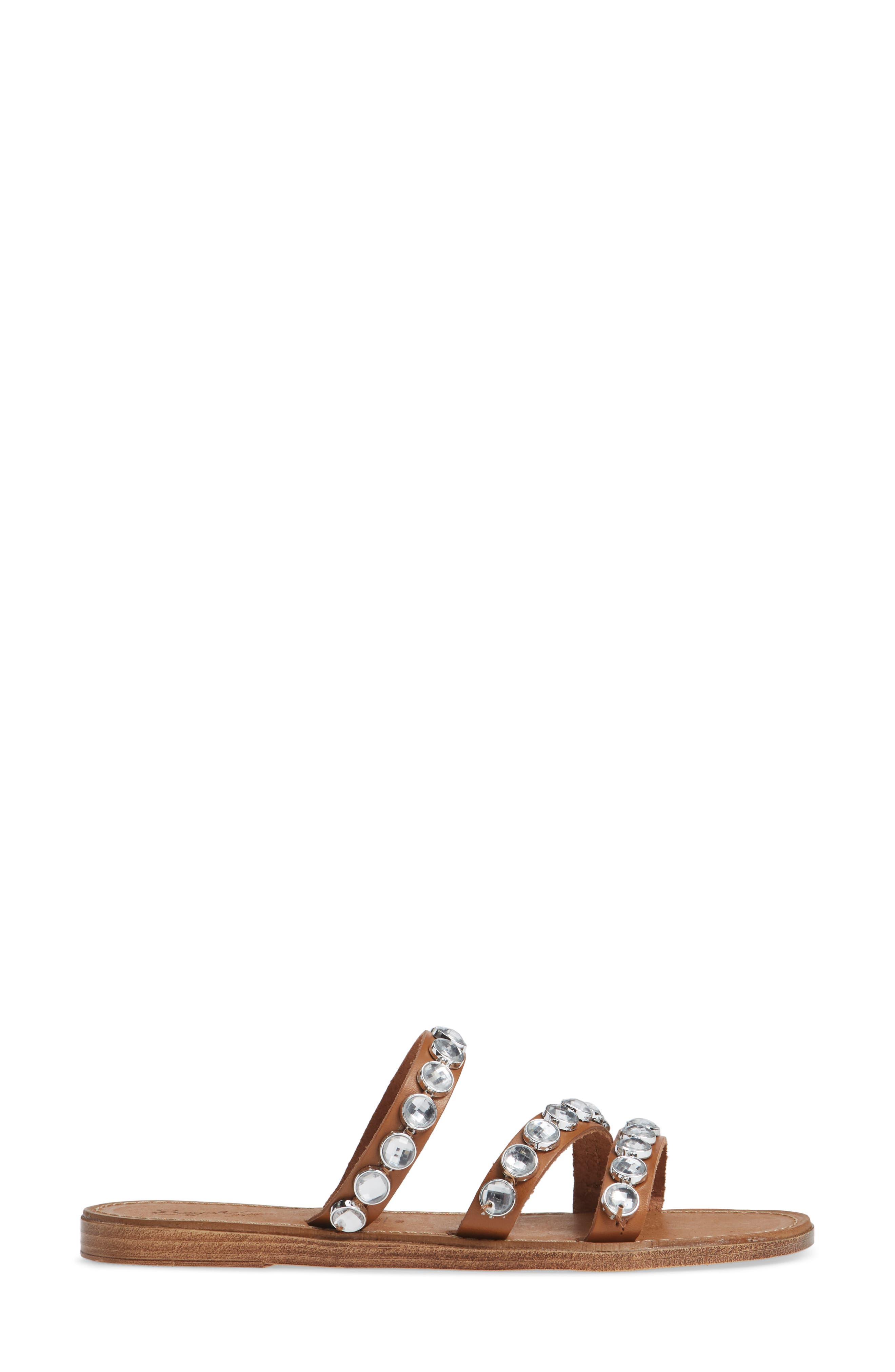 Stress Free Embellished Slide Sandal,                             Alternate thumbnail 3, color,                             200