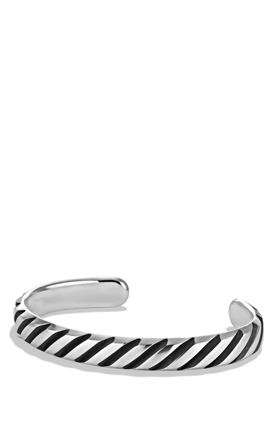 'Cable' Modern Cable Cuff,                         Main,                         color, 040