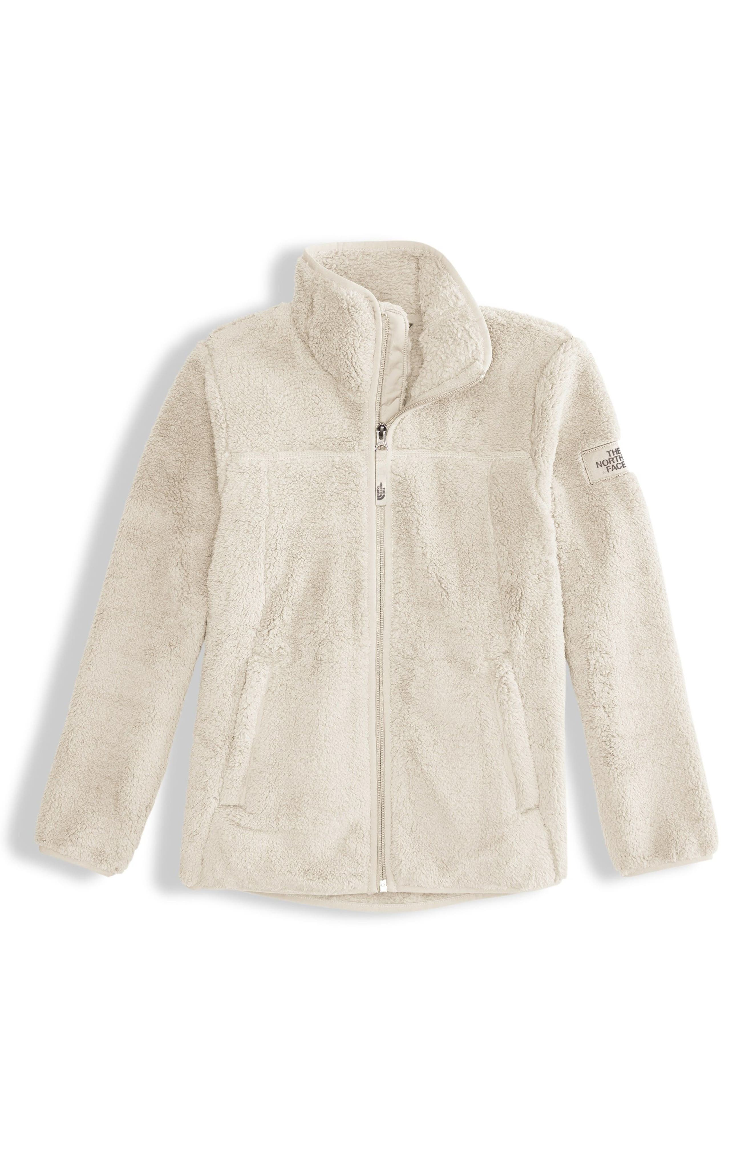 Campshire Fleece Jacket,                             Main thumbnail 1, color,                             VINTAGE WHITE