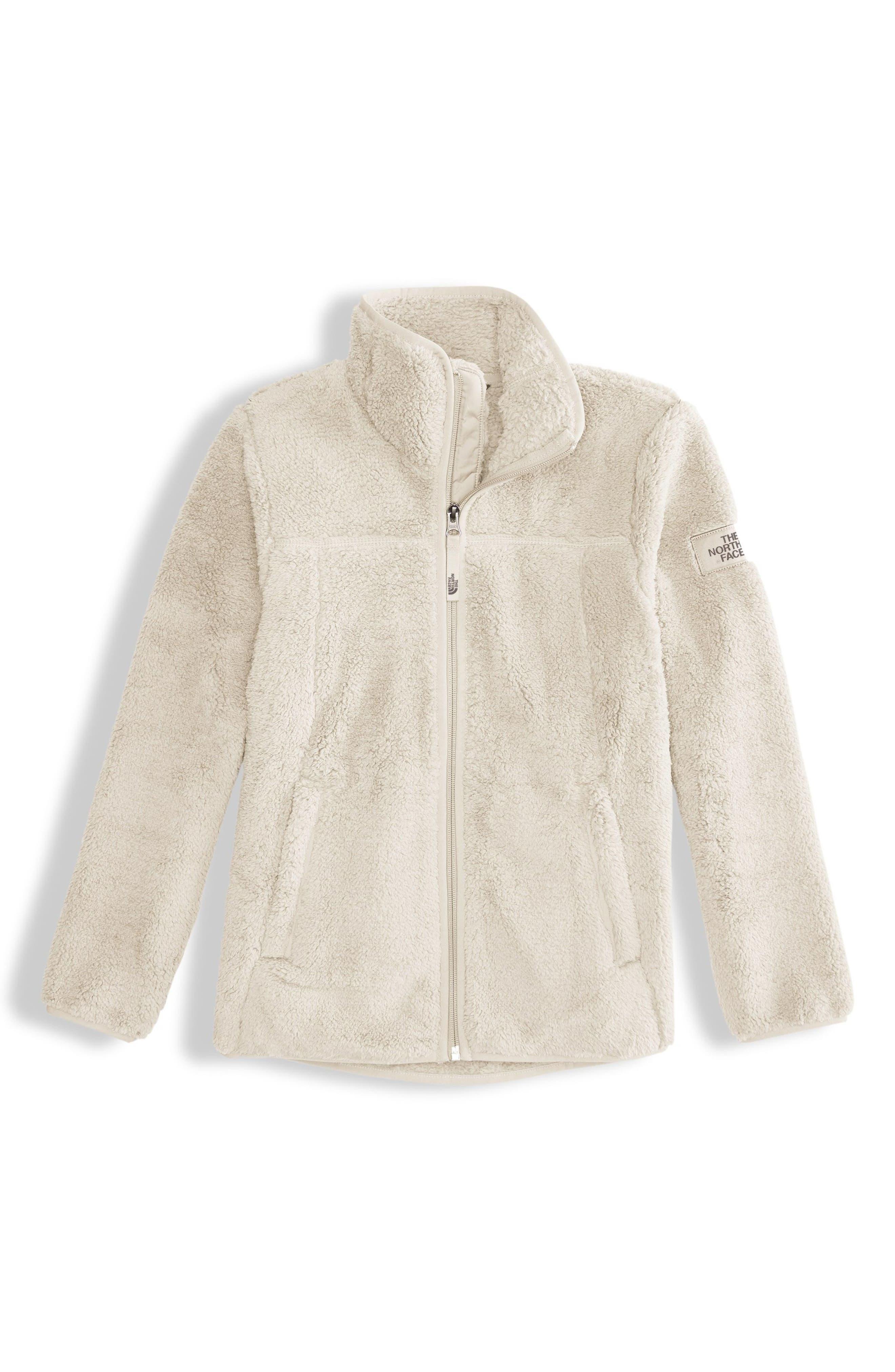 Campshire Fleece Jacket,                         Main,                         color, VINTAGE WHITE