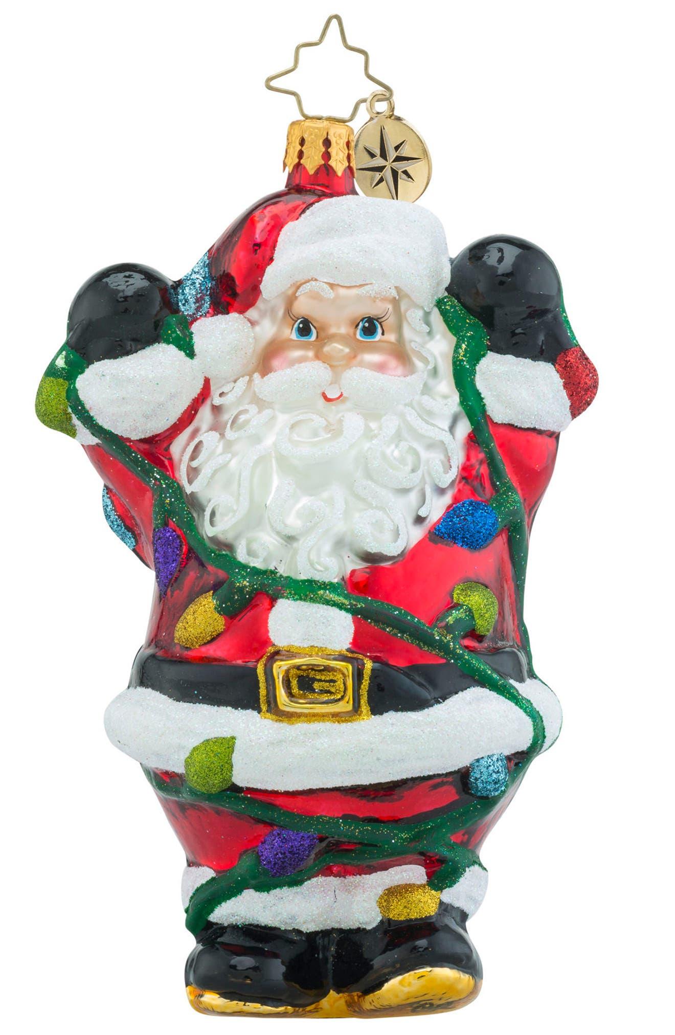 Tangles Tidings Ornament,                         Main,                         color,