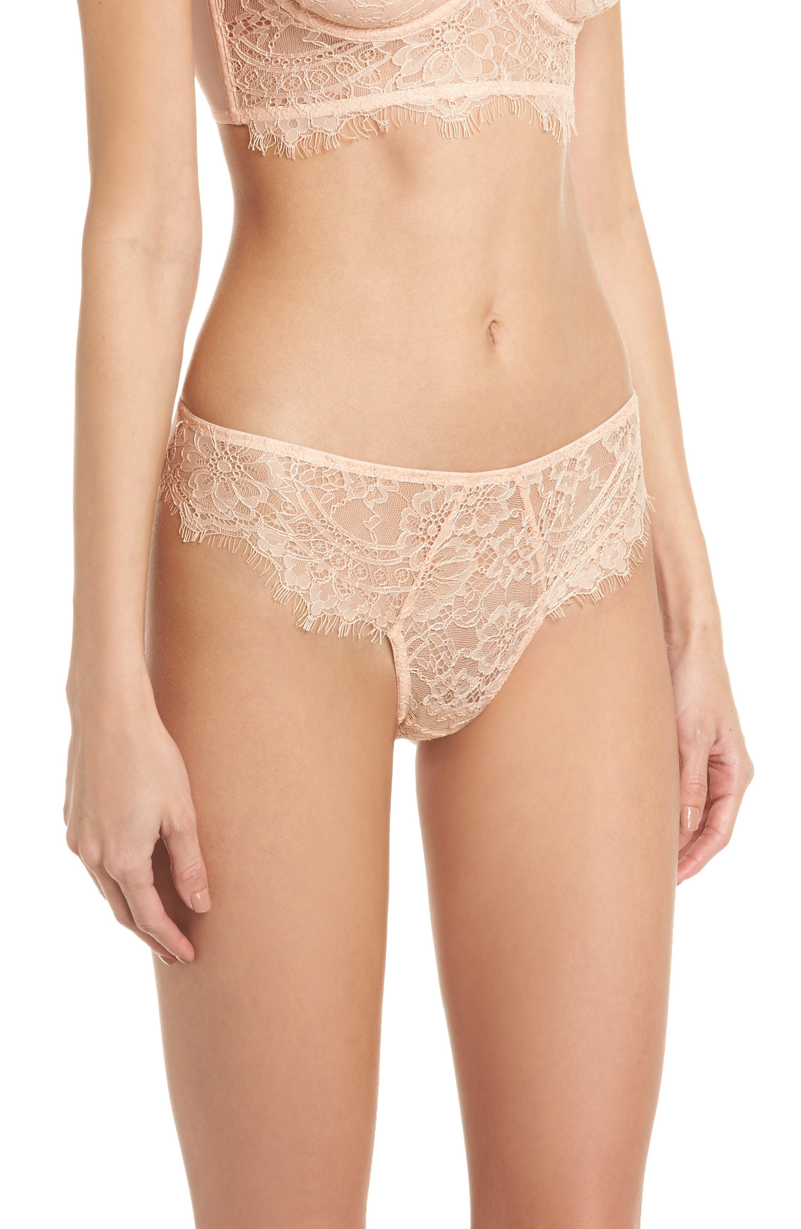 Thistle & Spire Graham Lace Bikini,                             Alternate thumbnail 3, color,