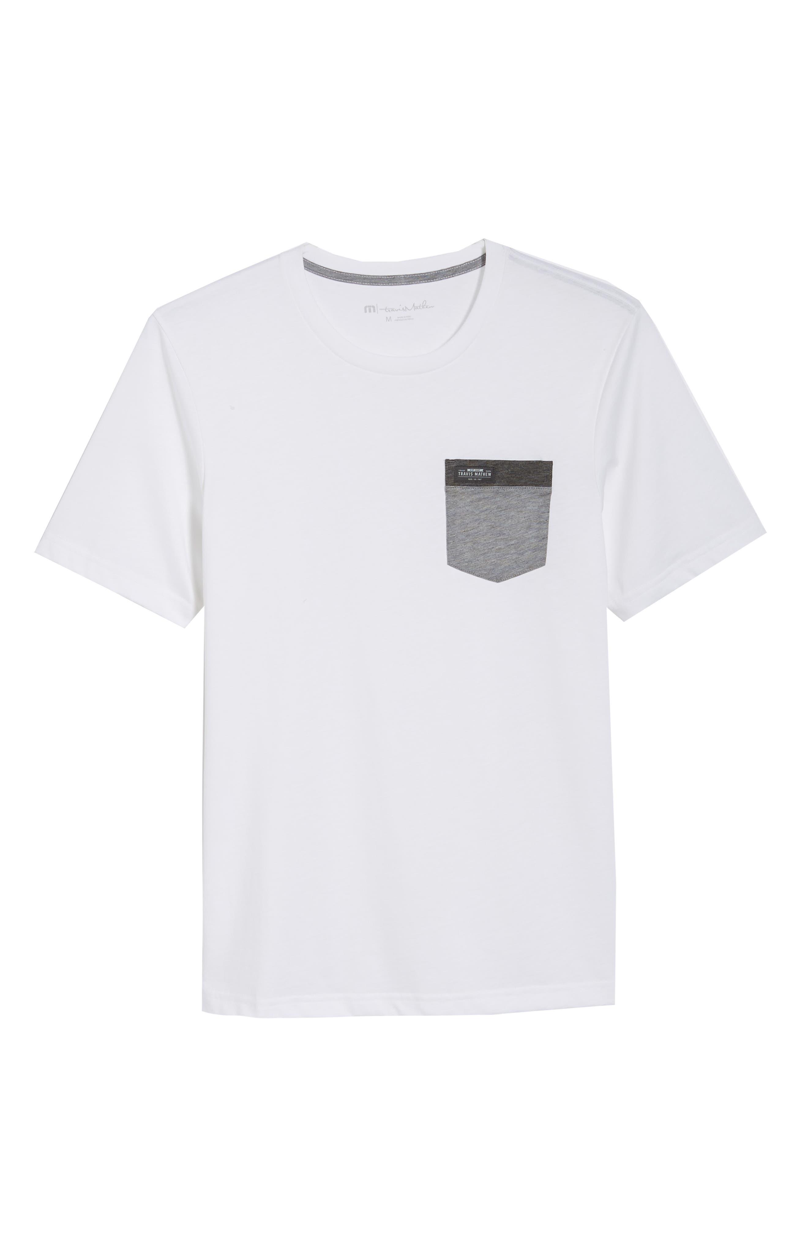 Muska Pocket T-Shirt,                             Alternate thumbnail 6, color,                             100