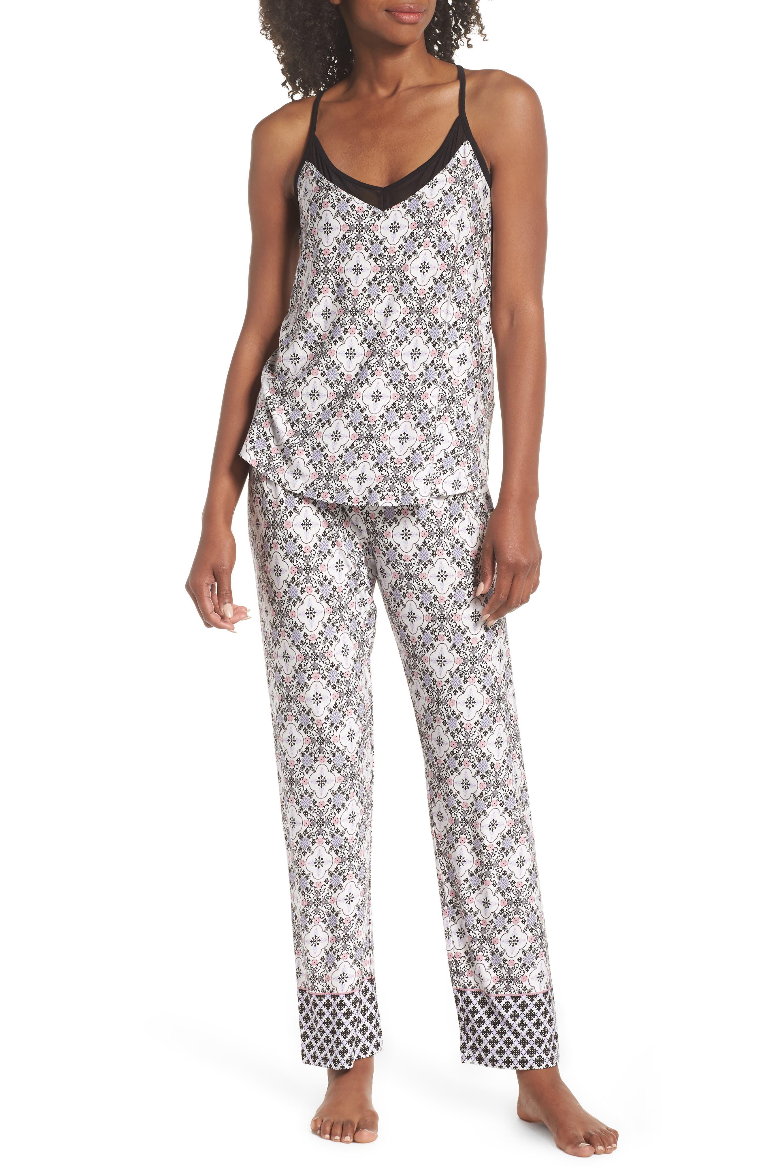 Ankle Pajama Pants,                             Alternate thumbnail 7, color,                             901