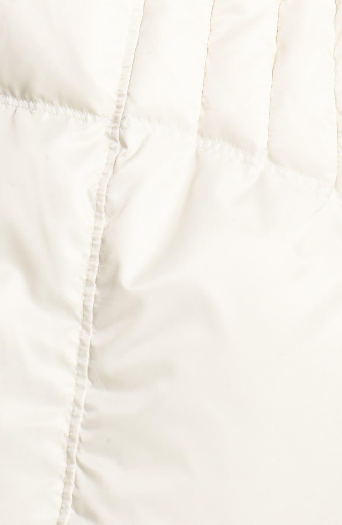 VINCE CAMUTO,                             Faux Fur Collar Down & Feather Parka,                             Alternate thumbnail 3, color,                             100
