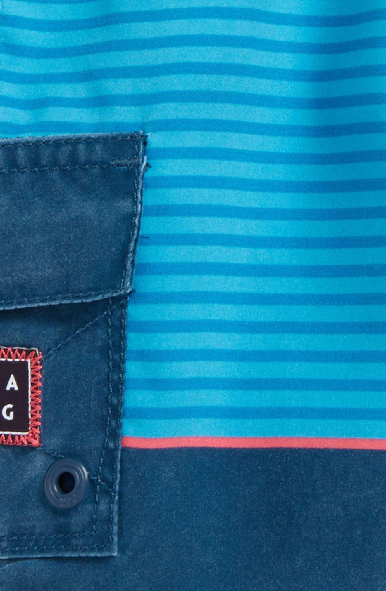 Tribong Layback Board Shorts,                             Alternate thumbnail 2, color,                             428
