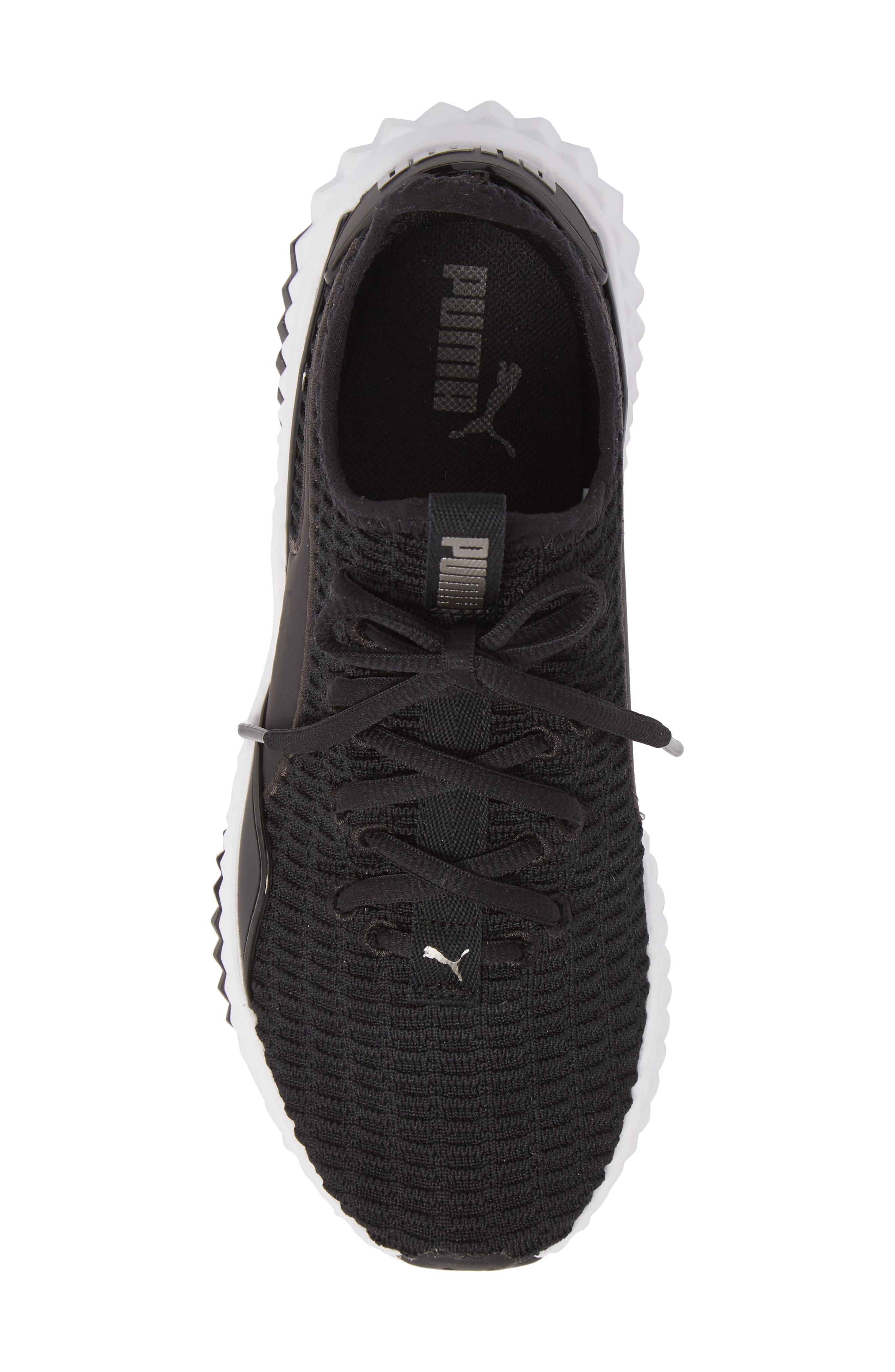 Defy Sneaker,                             Alternate thumbnail 5, color,                             001
