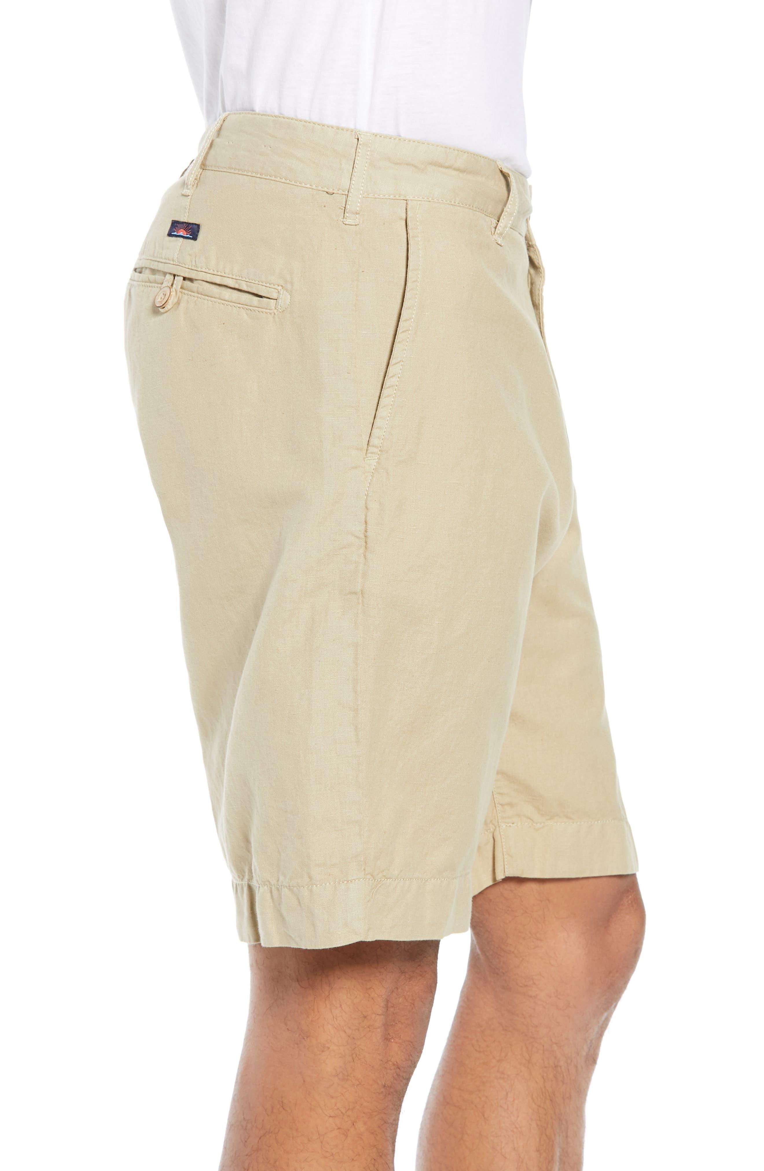 Malibu Shorts,                             Alternate thumbnail 3, color,                             KHAKI