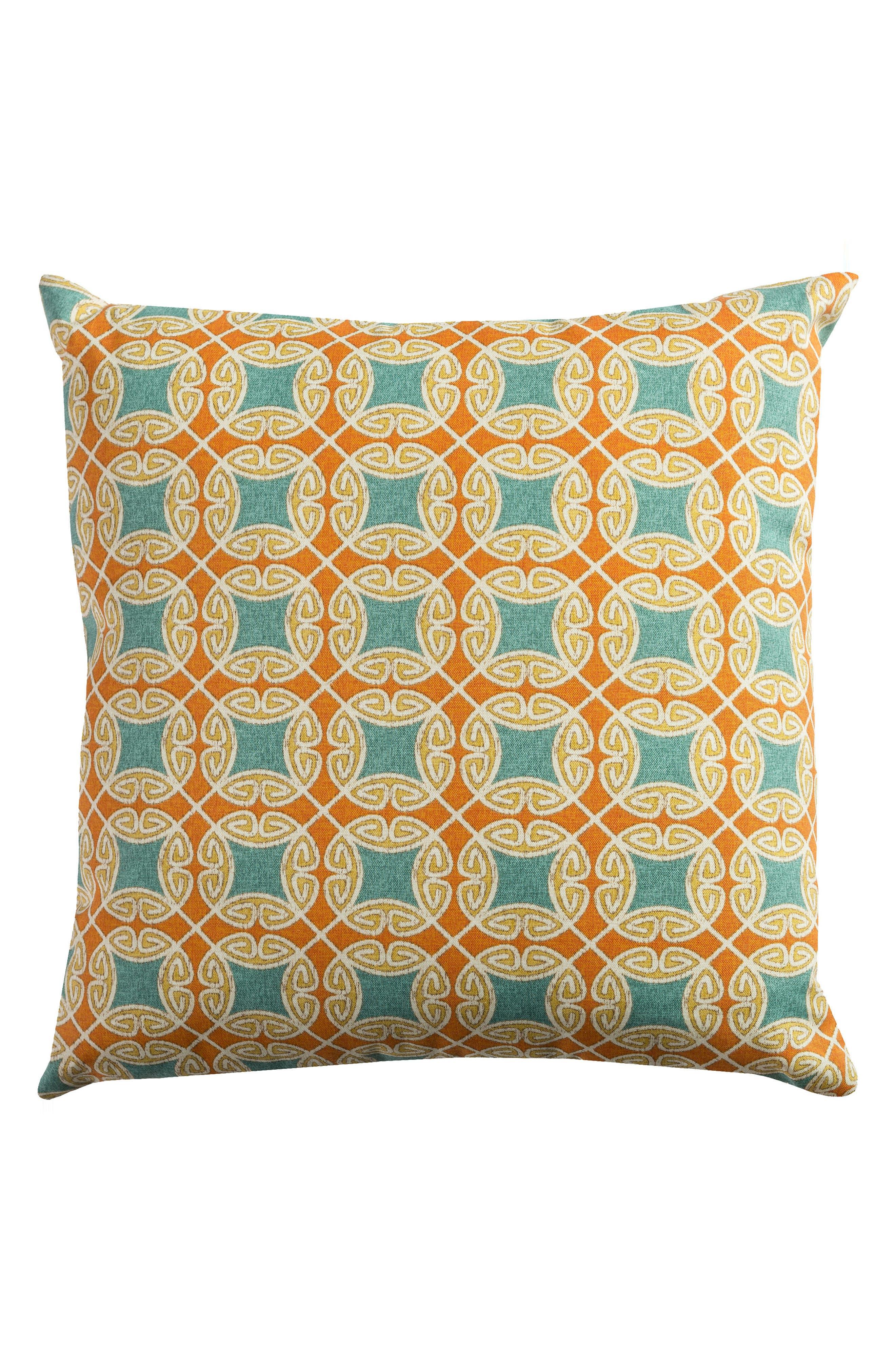 Chevron Outdoor Pillow,                             Main thumbnail 6, color,