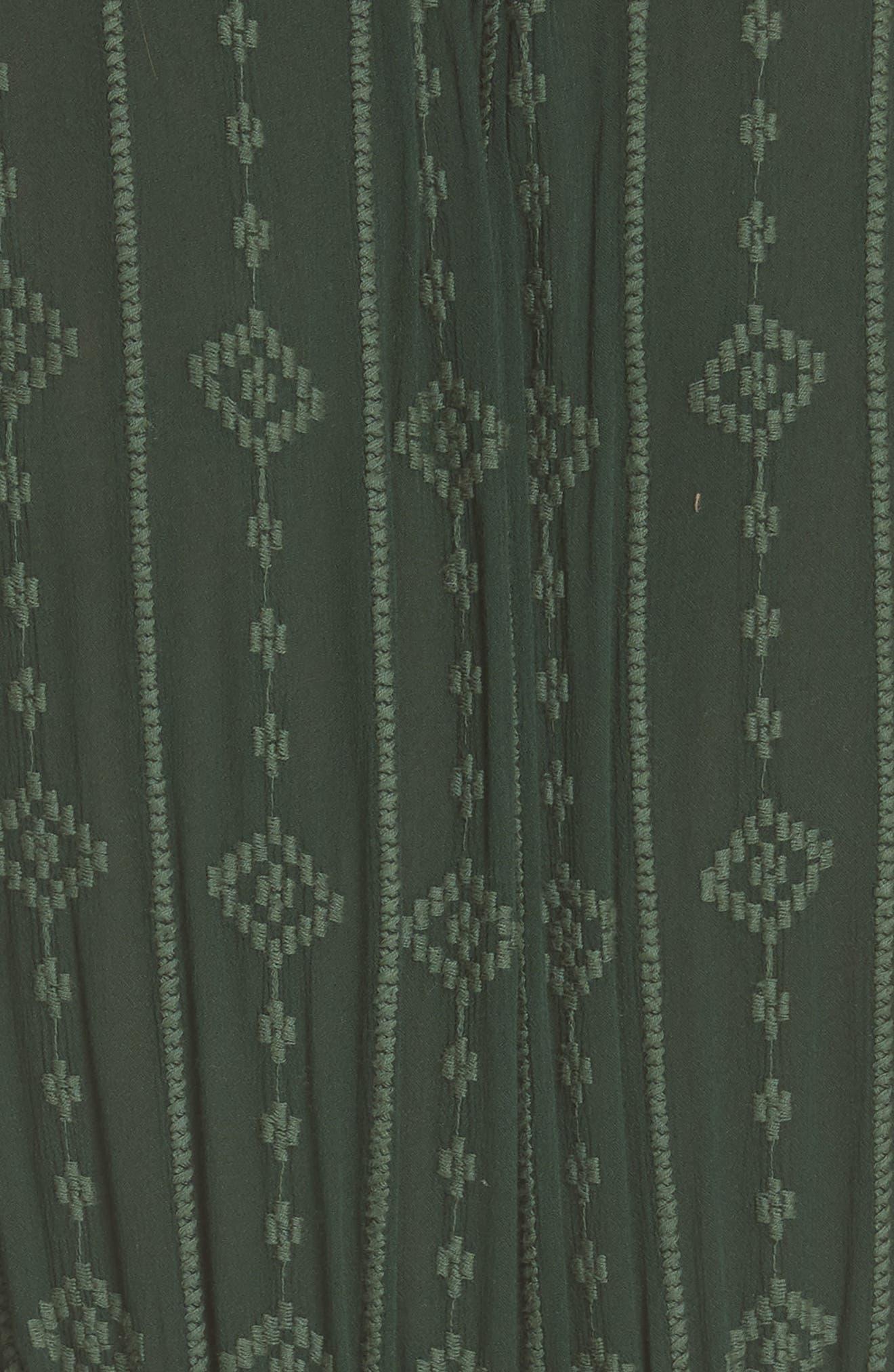 Diamond Head Midi Dress,                             Alternate thumbnail 6, color,                             301