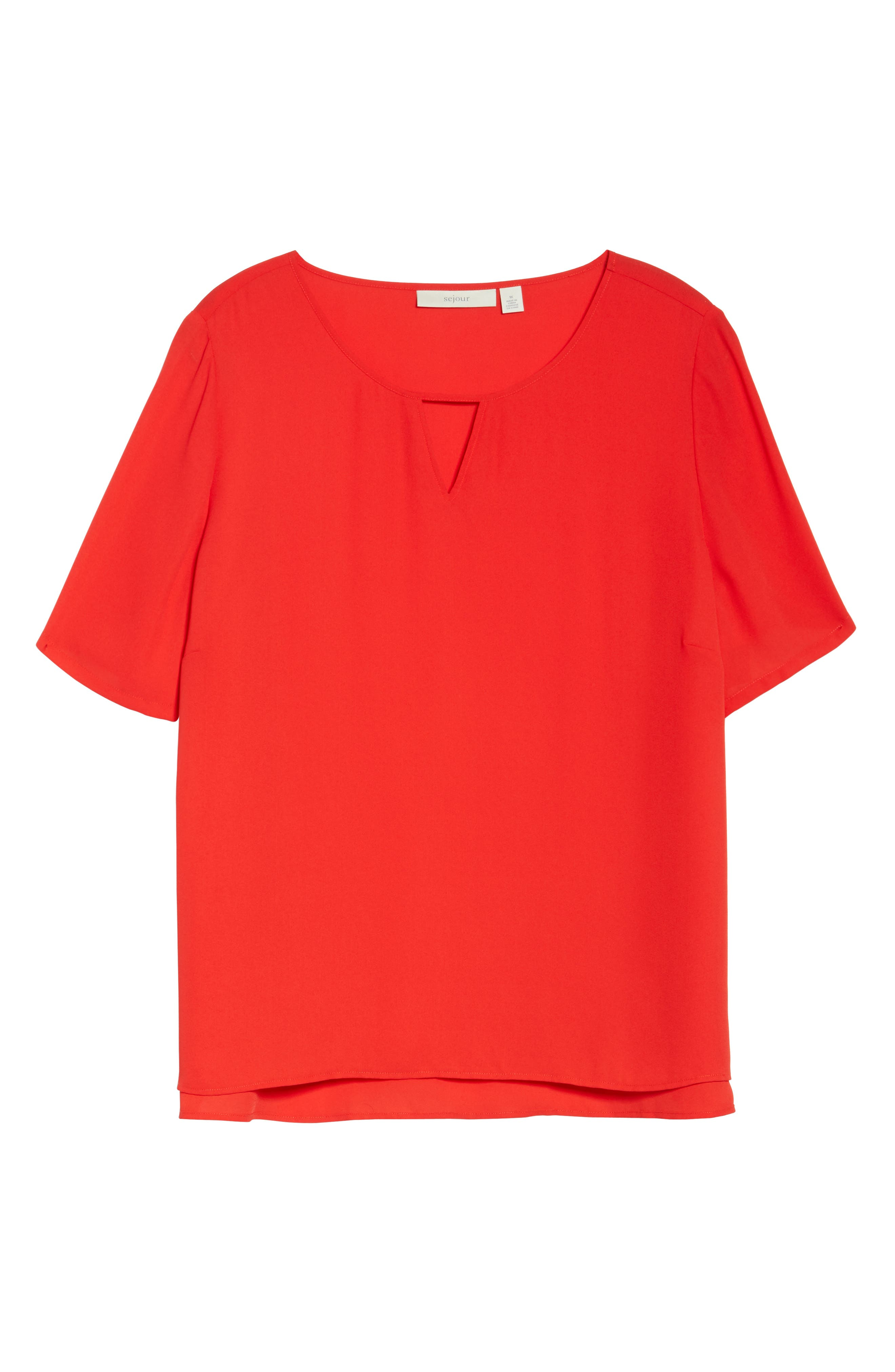 Curved High/Low Top,                             Alternate thumbnail 42, color,
