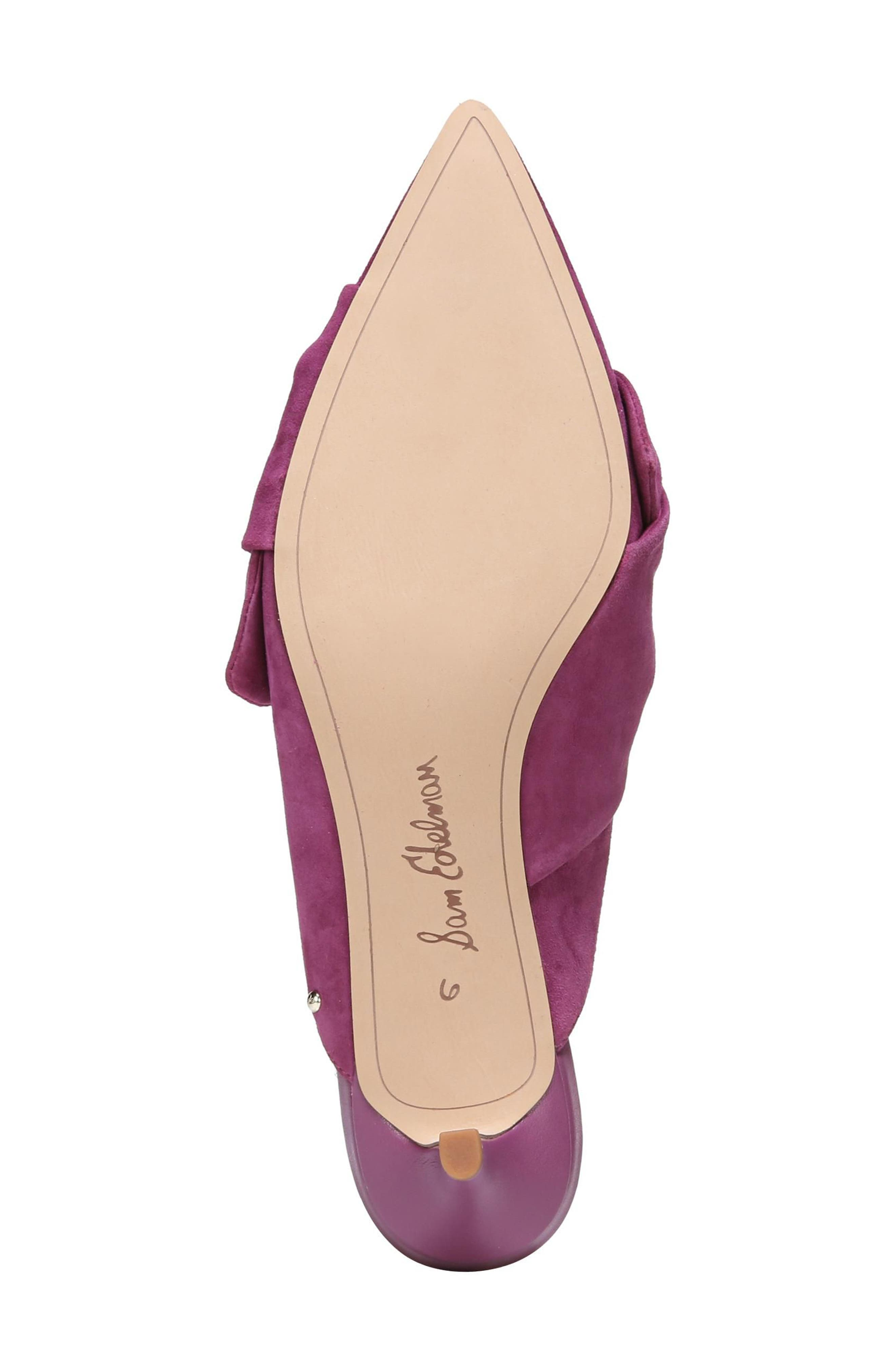 Laney Pointy Toe Mule,                             Alternate thumbnail 34, color,