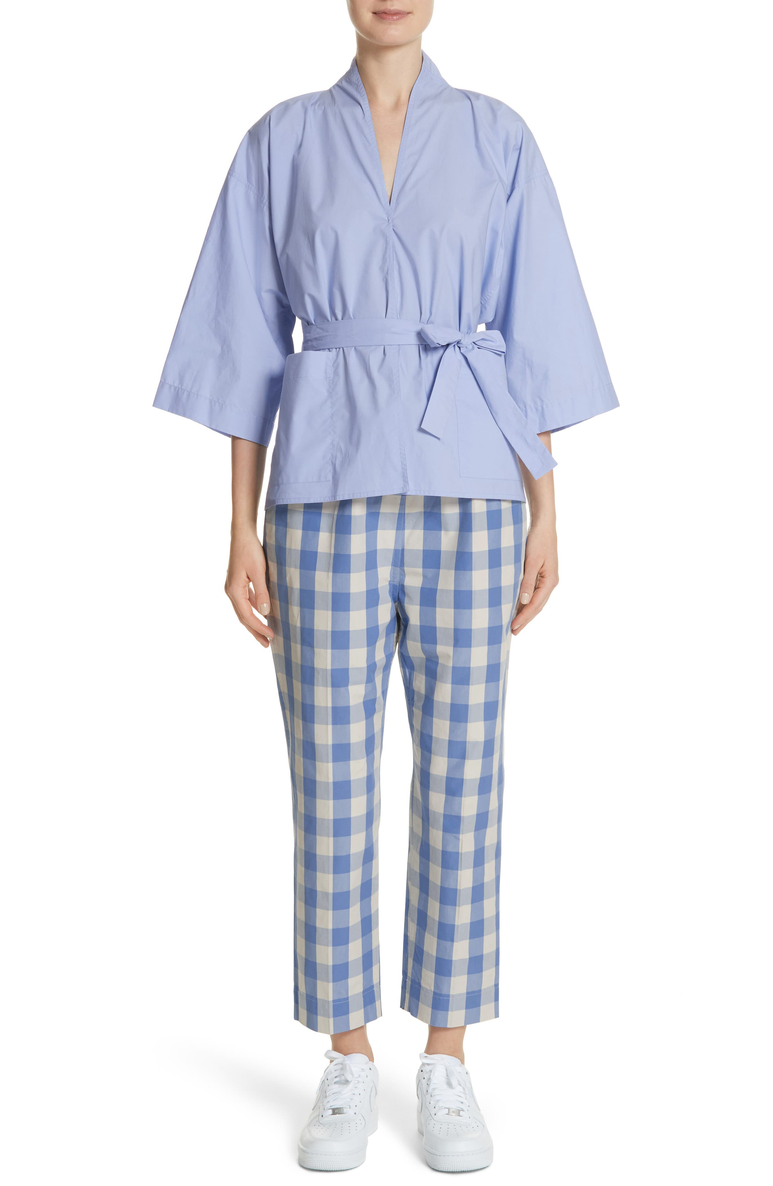 Belted Blouse,                             Alternate thumbnail 7, color,                             400
