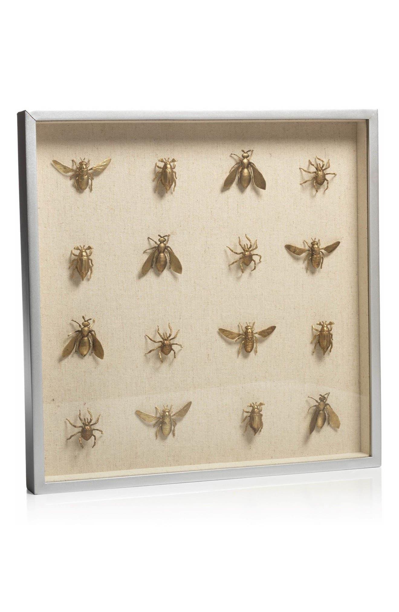 Insect Shadow Box Art,                             Main thumbnail 1, color,                             710