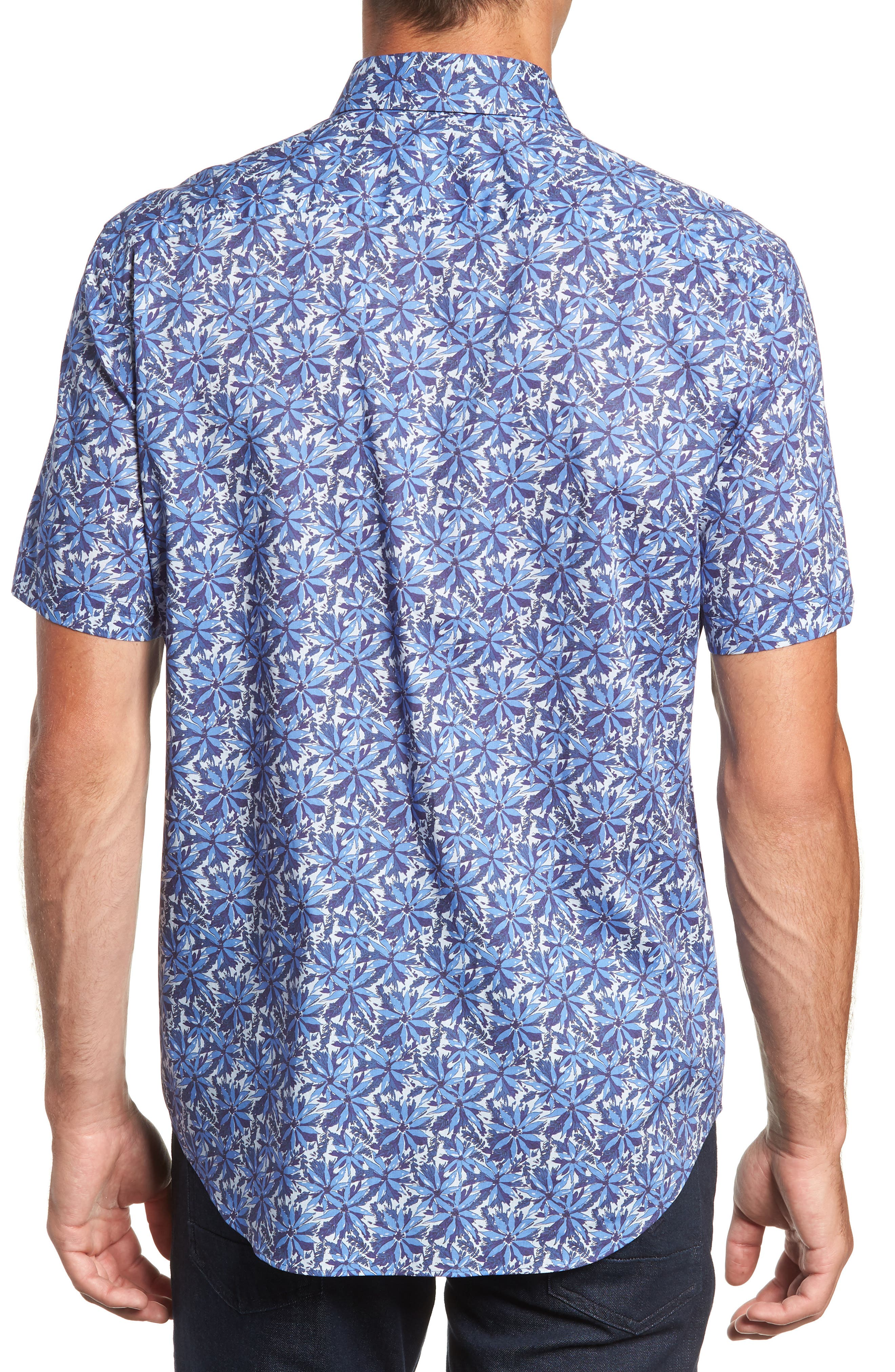ZACHARY PRELL,                             Ose Regular Fit Sport Shirt,                             Alternate thumbnail 3, color,                             400