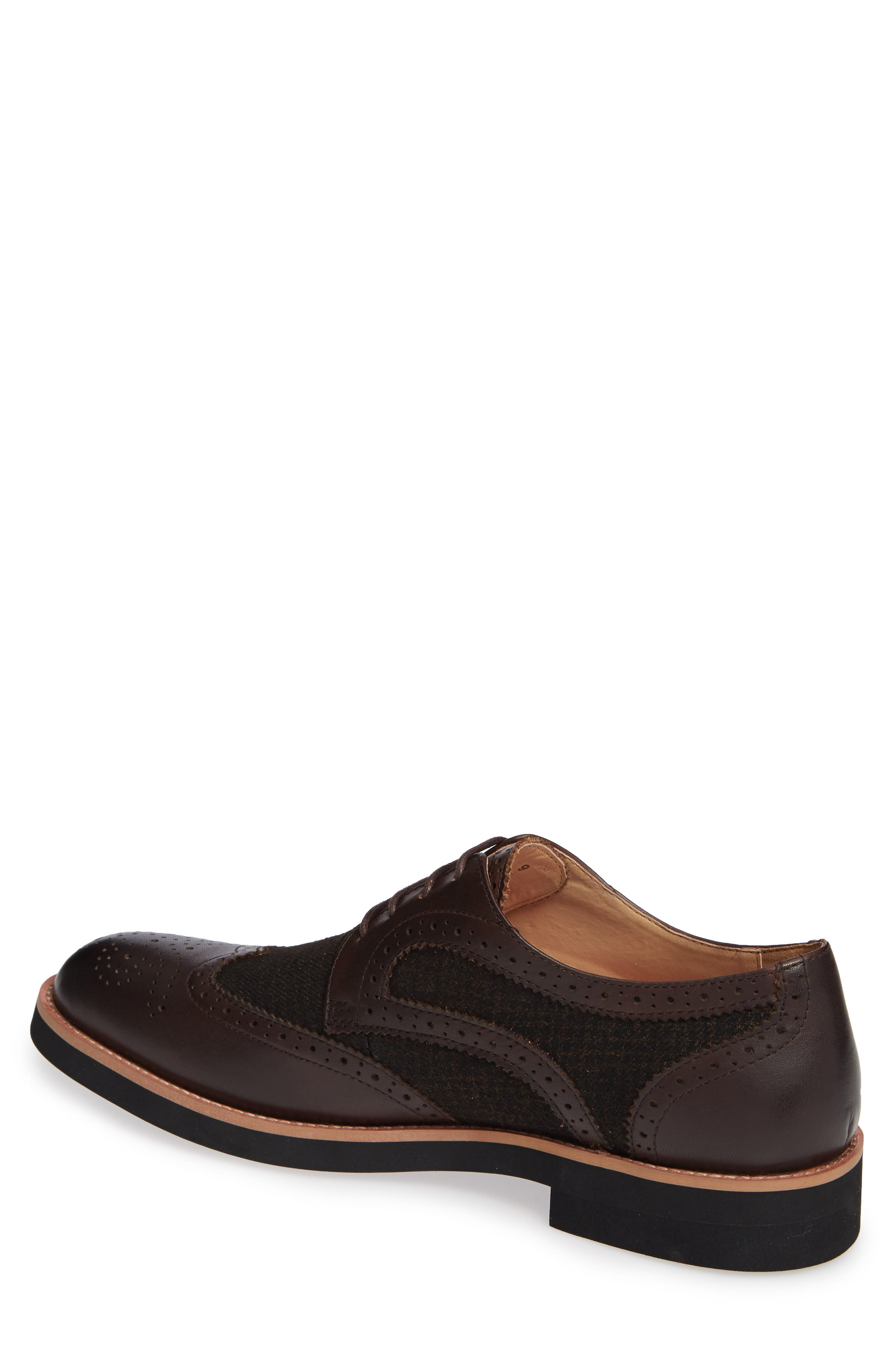 Bolton Wingtip,                             Alternate thumbnail 2, color,                             BROWN