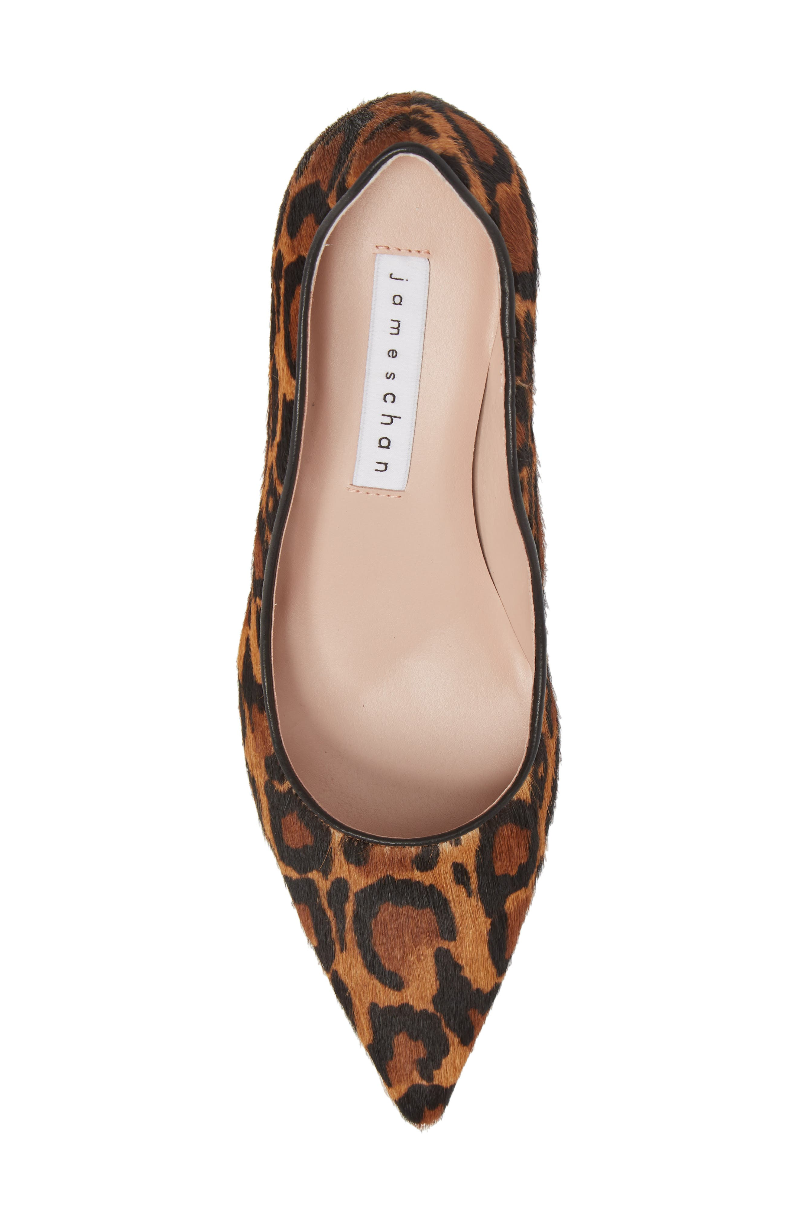Anika 70 Pump,                             Alternate thumbnail 5, color,                             CAMEL MULTI HAIR CALF