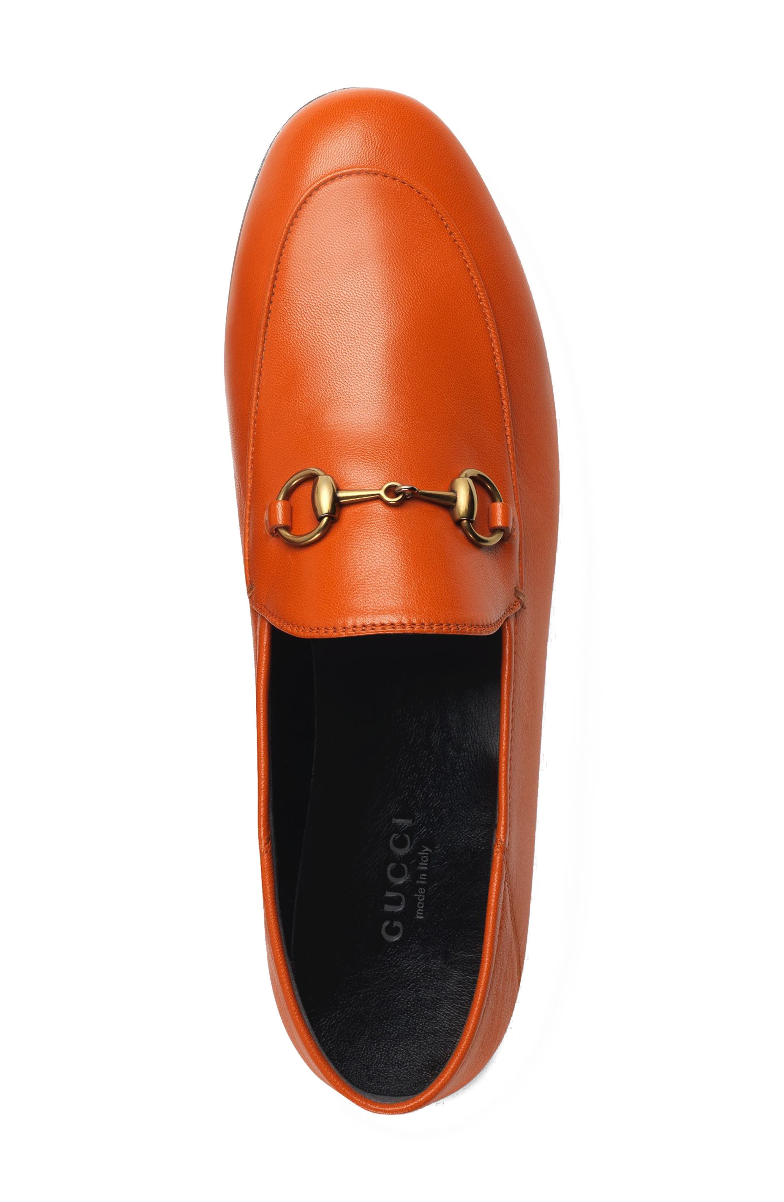 Brixton Convertible Loafer,                             Alternate thumbnail 3, color,                             DEEP ORANGE