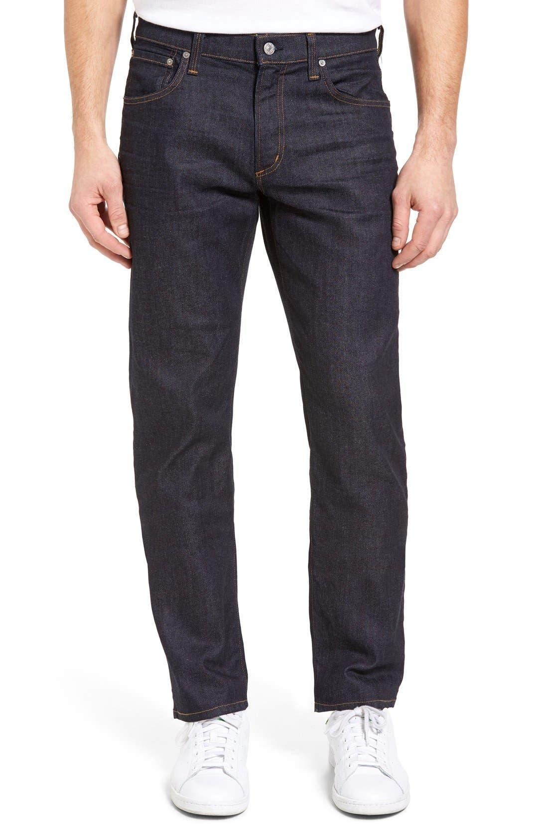 Sid Classic Straight Leg Jeans,                             Alternate thumbnail 12, color,                             LAFAYETTE