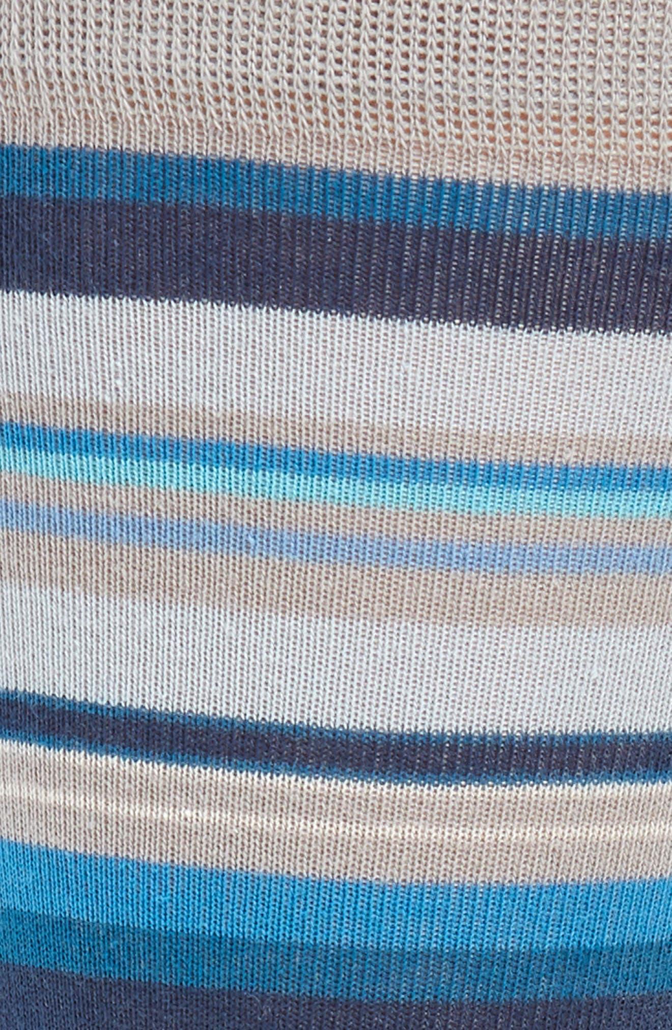 Variegated Stripe Socks,                             Alternate thumbnail 2, color,                             030