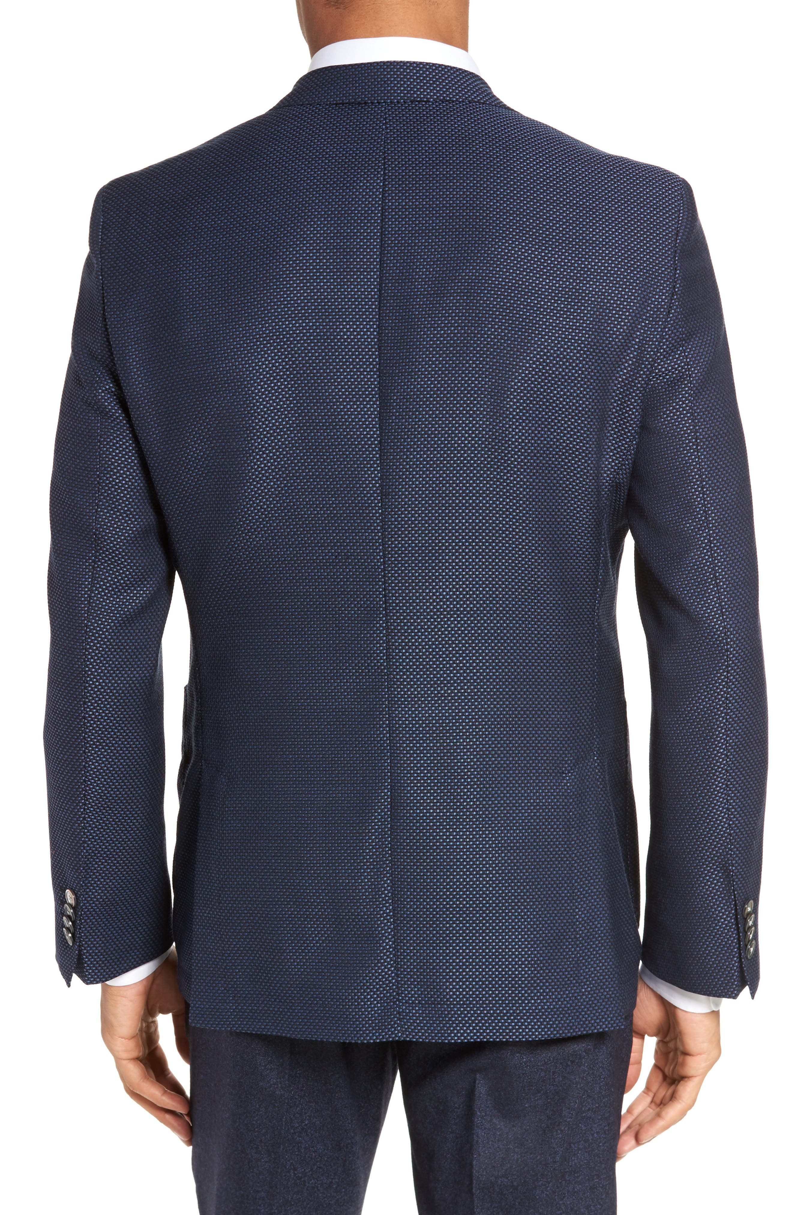 Janson Classic Fit Wool Blazer,                             Alternate thumbnail 2, color,