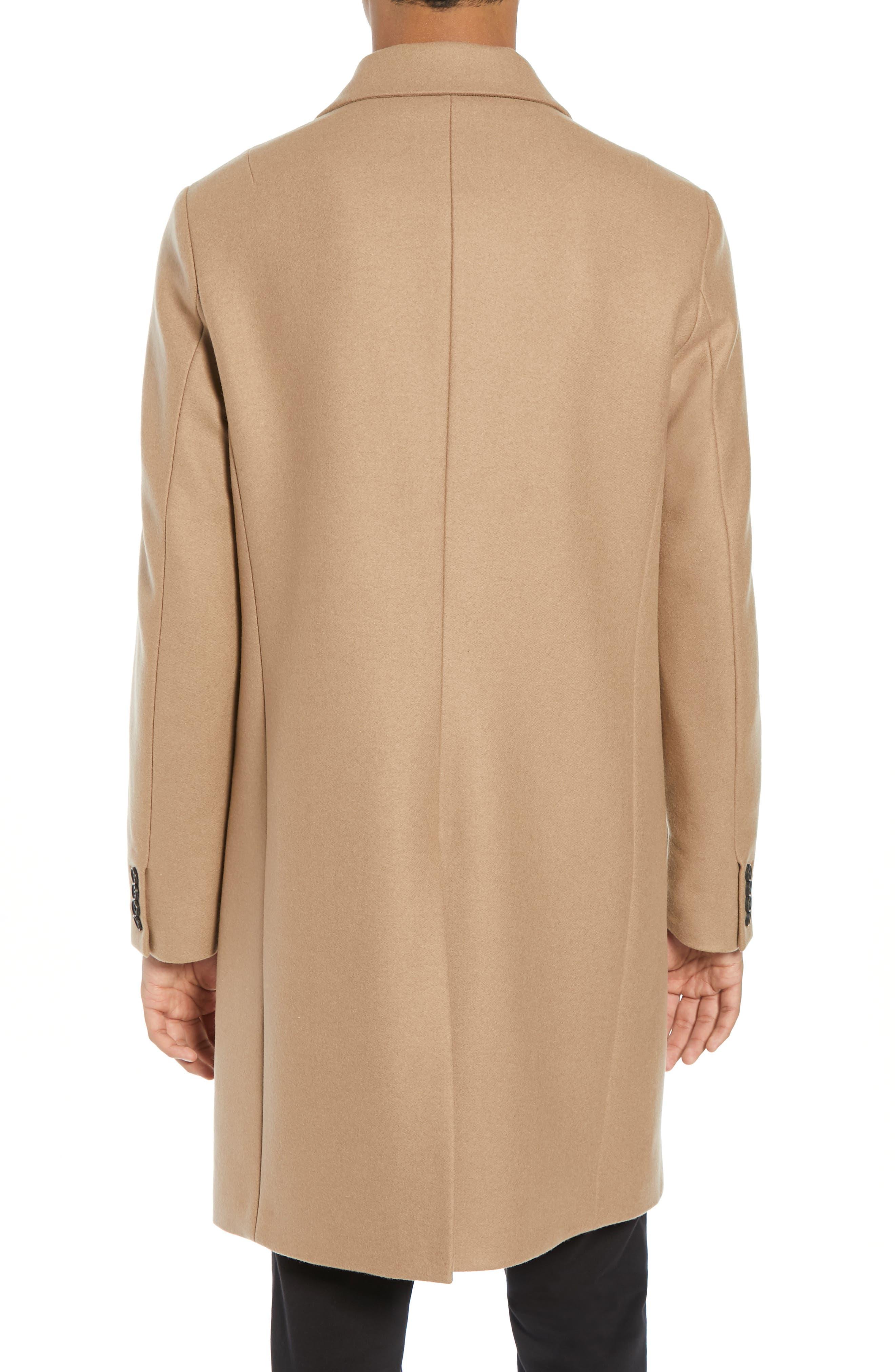 Tulsen Regular Fit Wool Topcoat,                             Alternate thumbnail 2, color,                             200