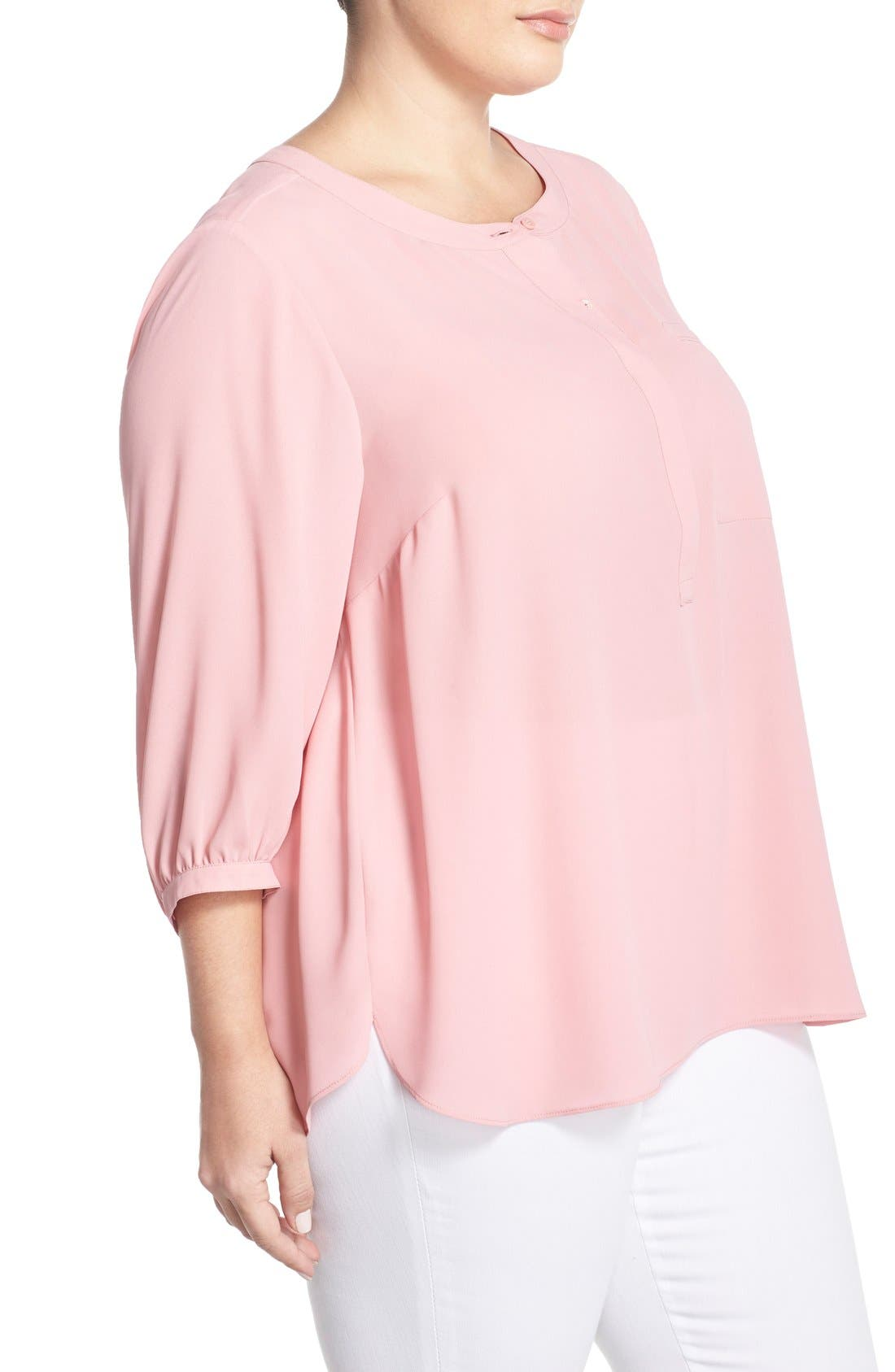 Henley Top,                             Alternate thumbnail 399, color,