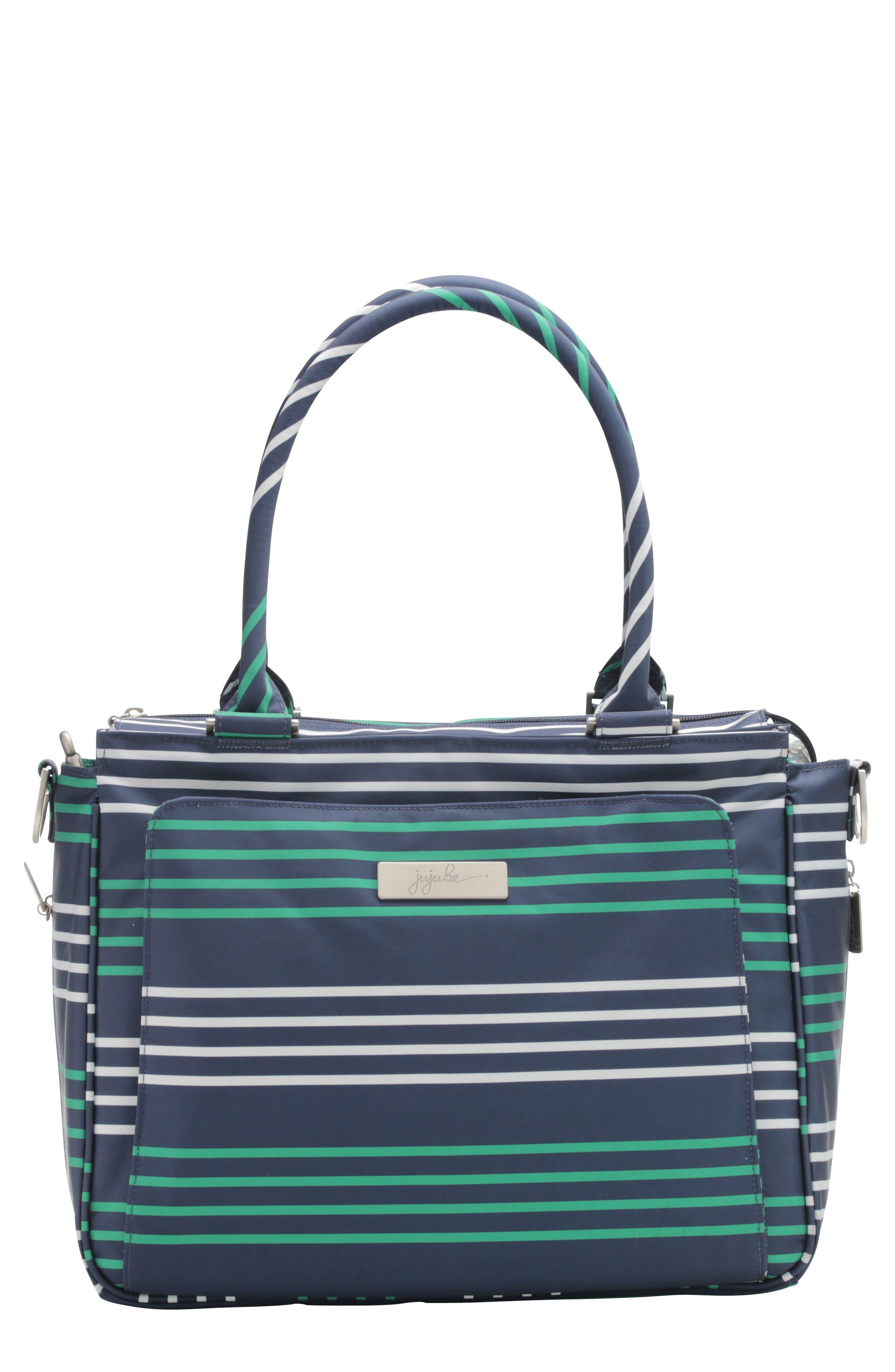 Be Classy - Coastal Collection Diaper Bag,                             Main thumbnail 4, color,