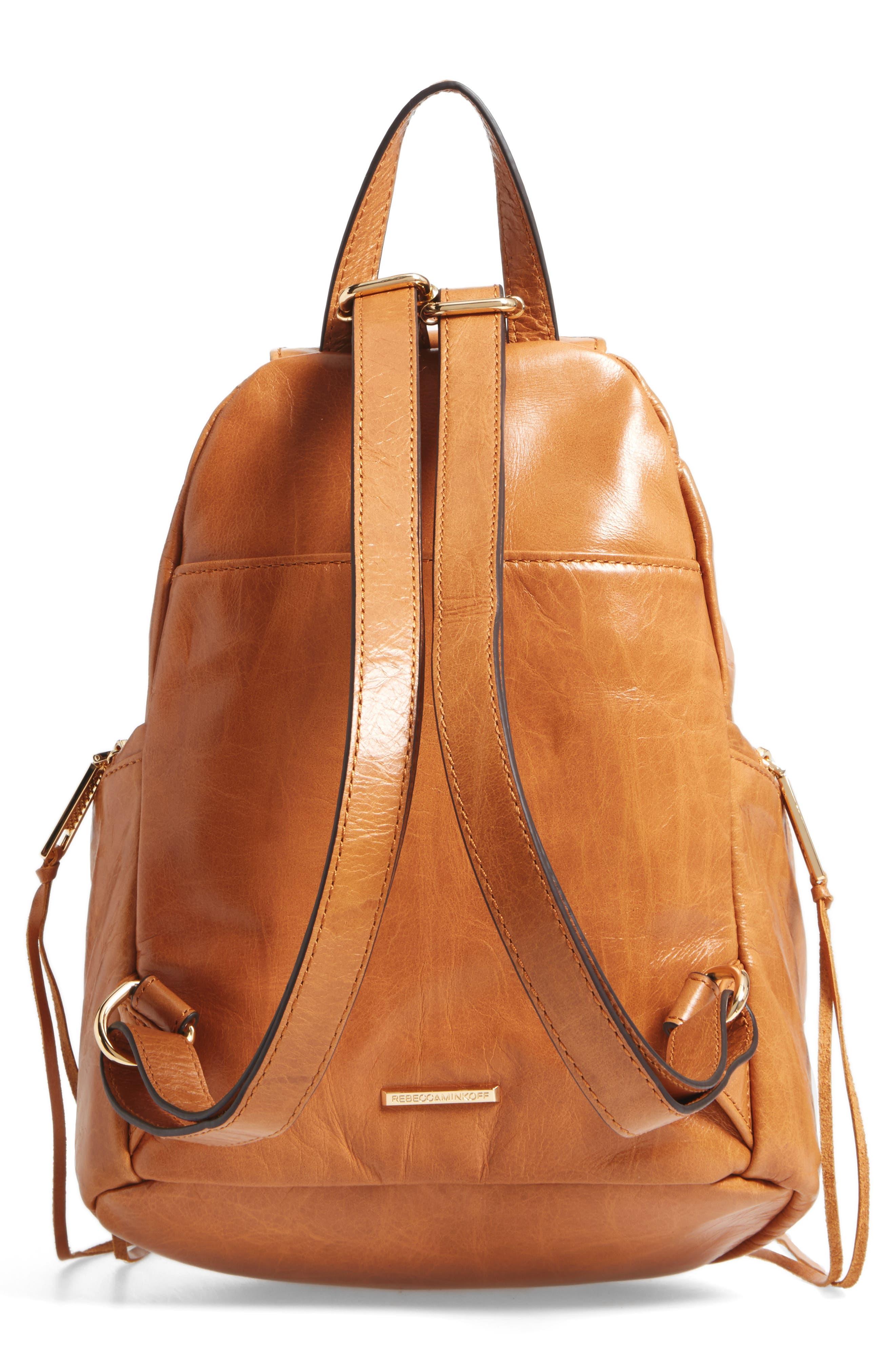 Medium Julian Leather Backpack,                             Alternate thumbnail 12, color,