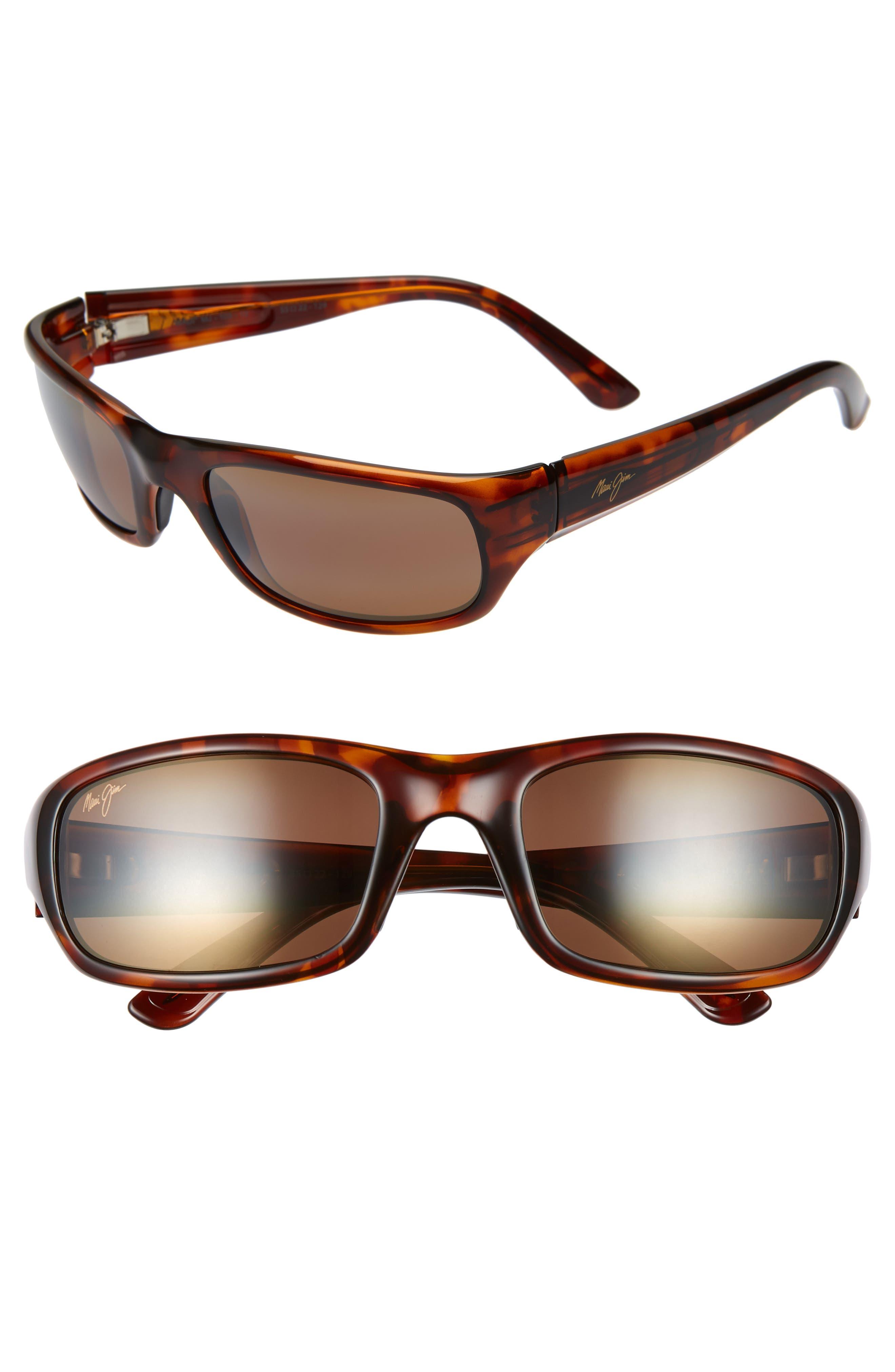 'Stingray - PolarizedPlus<sup>®</sup>2' 56mm Sunglasses,                             Alternate thumbnail 2, color,                             TORTOISE