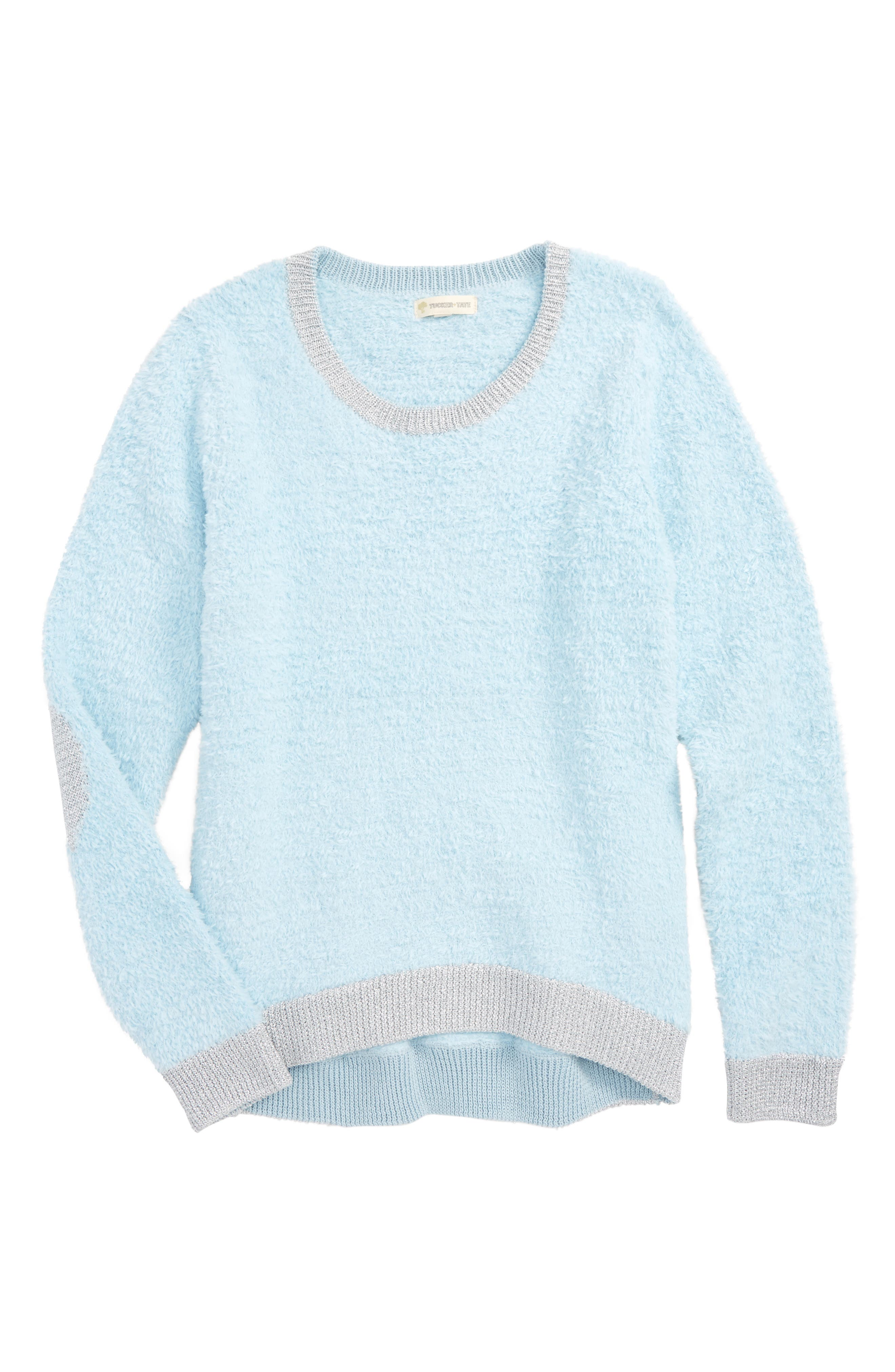 Teddy Pullover Sweater,                         Main,                         color, 450
