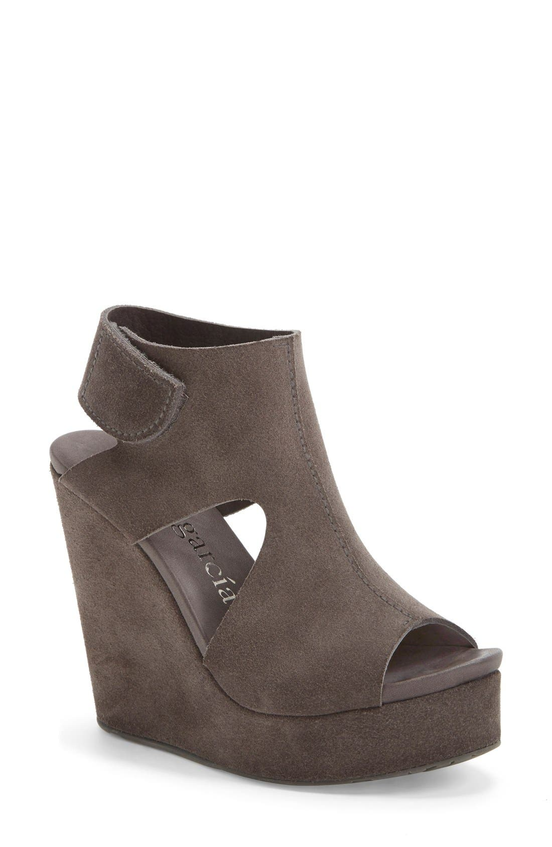 'Terence' Platform Wedge Sandal,                             Main thumbnail 1, color,                             020