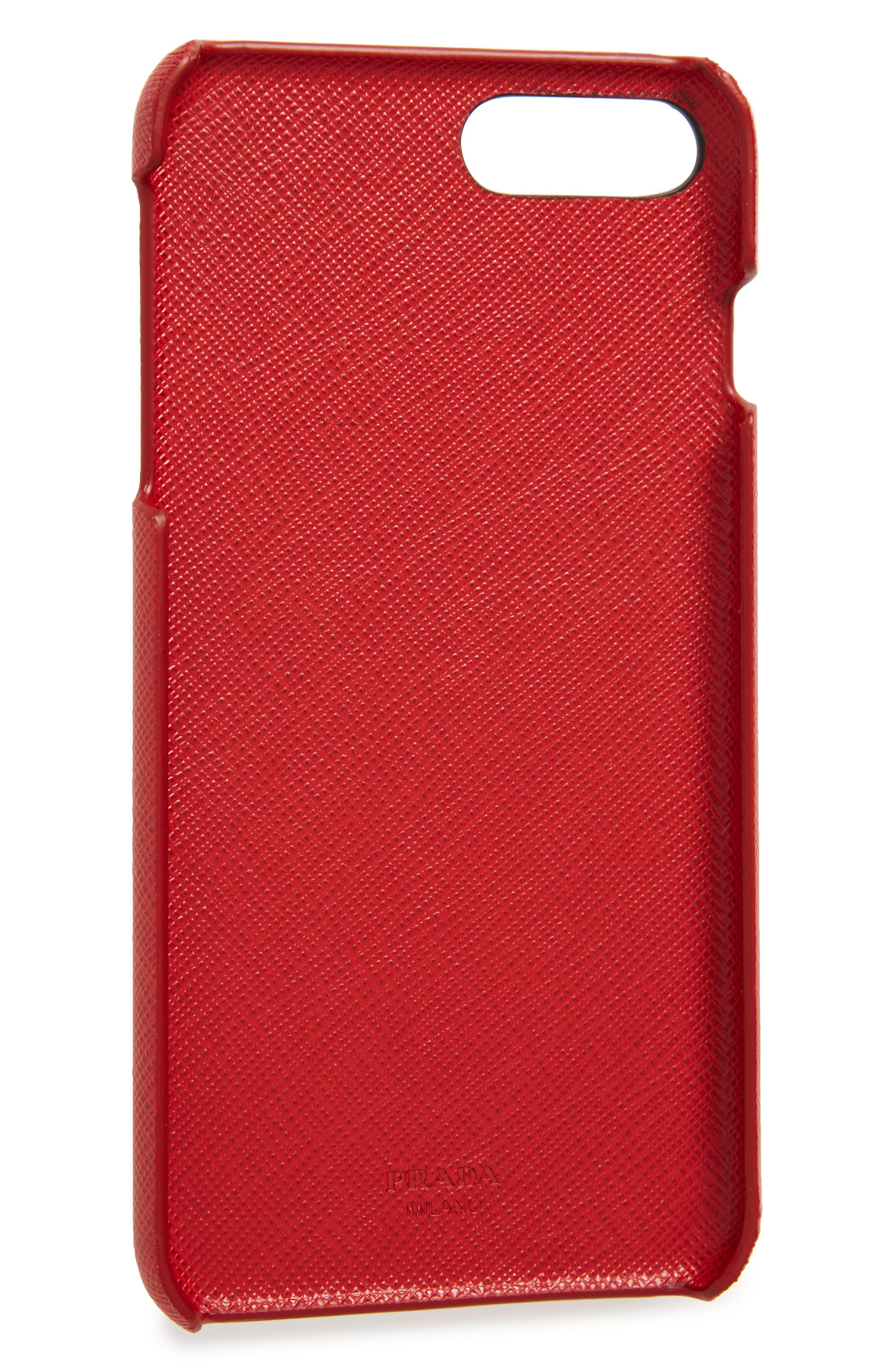 Saffiano Metal Oro iPhone 7/8 Plus Case,                             Alternate thumbnail 10, color,