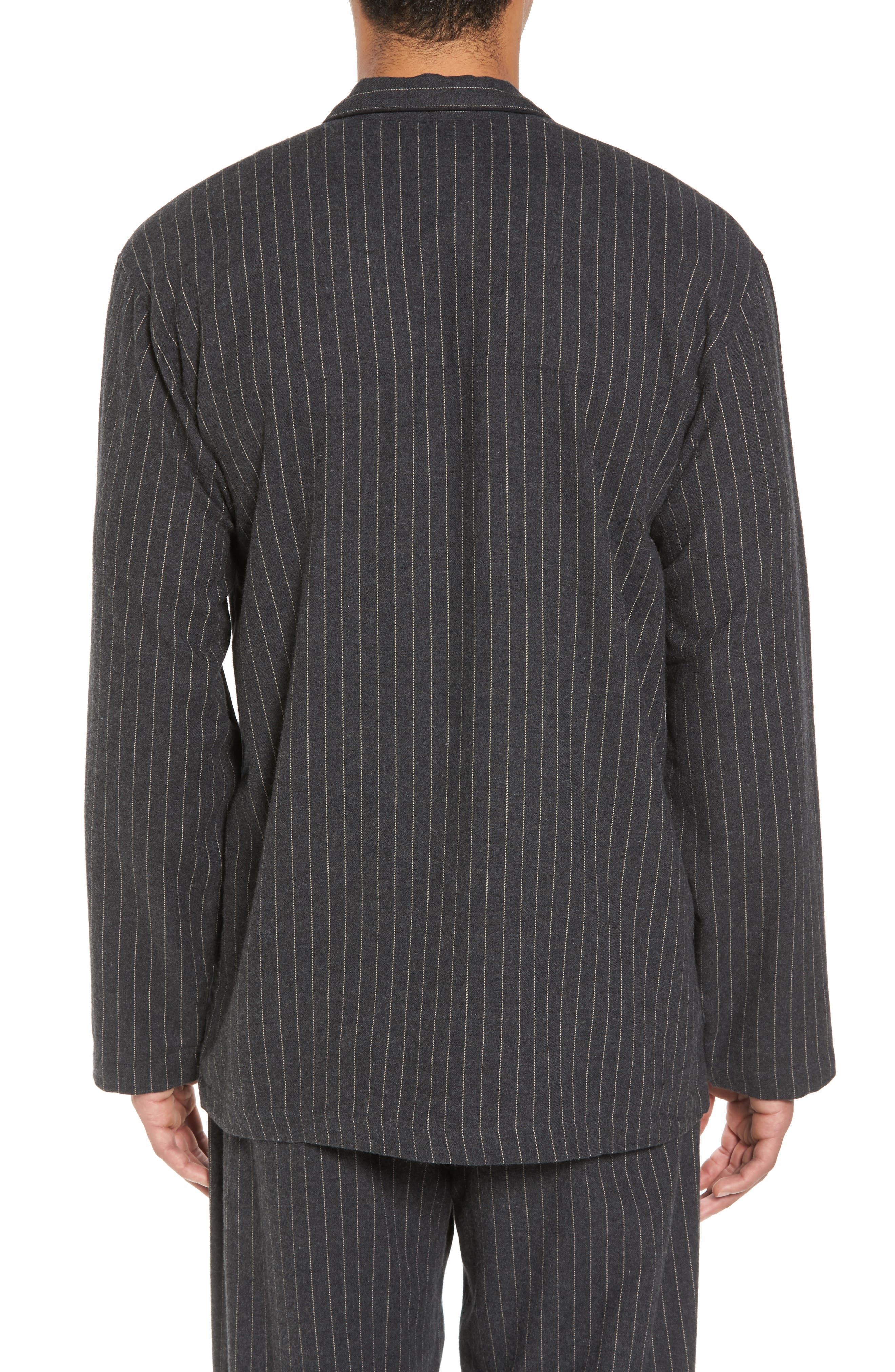 Polo Ralph Lauren Flannel Pajama Shirt,                             Alternate thumbnail 5, color,