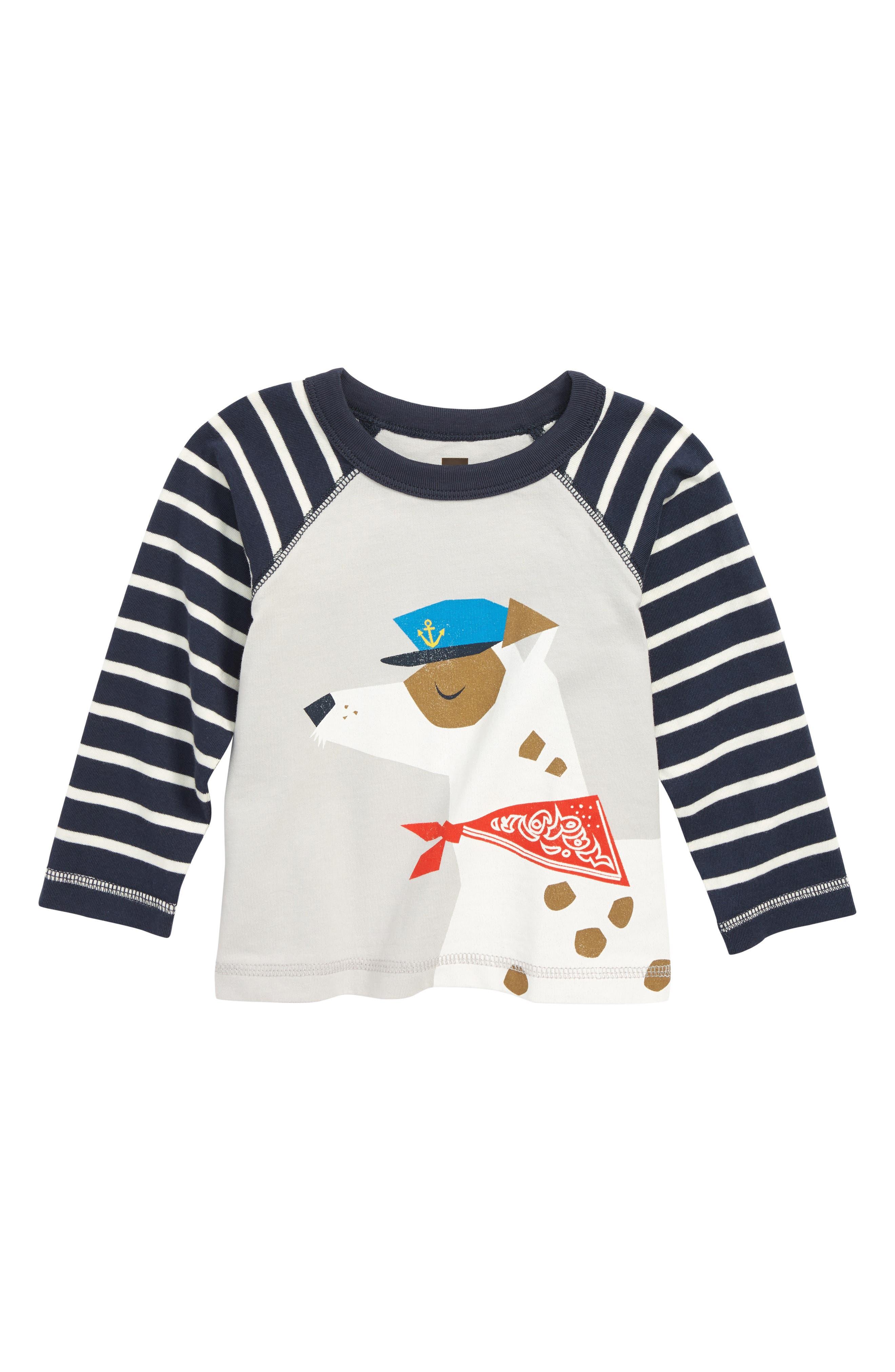 Salty Dog Graphic Raglan T-Shirt,                         Main,                         color, VAPOR
