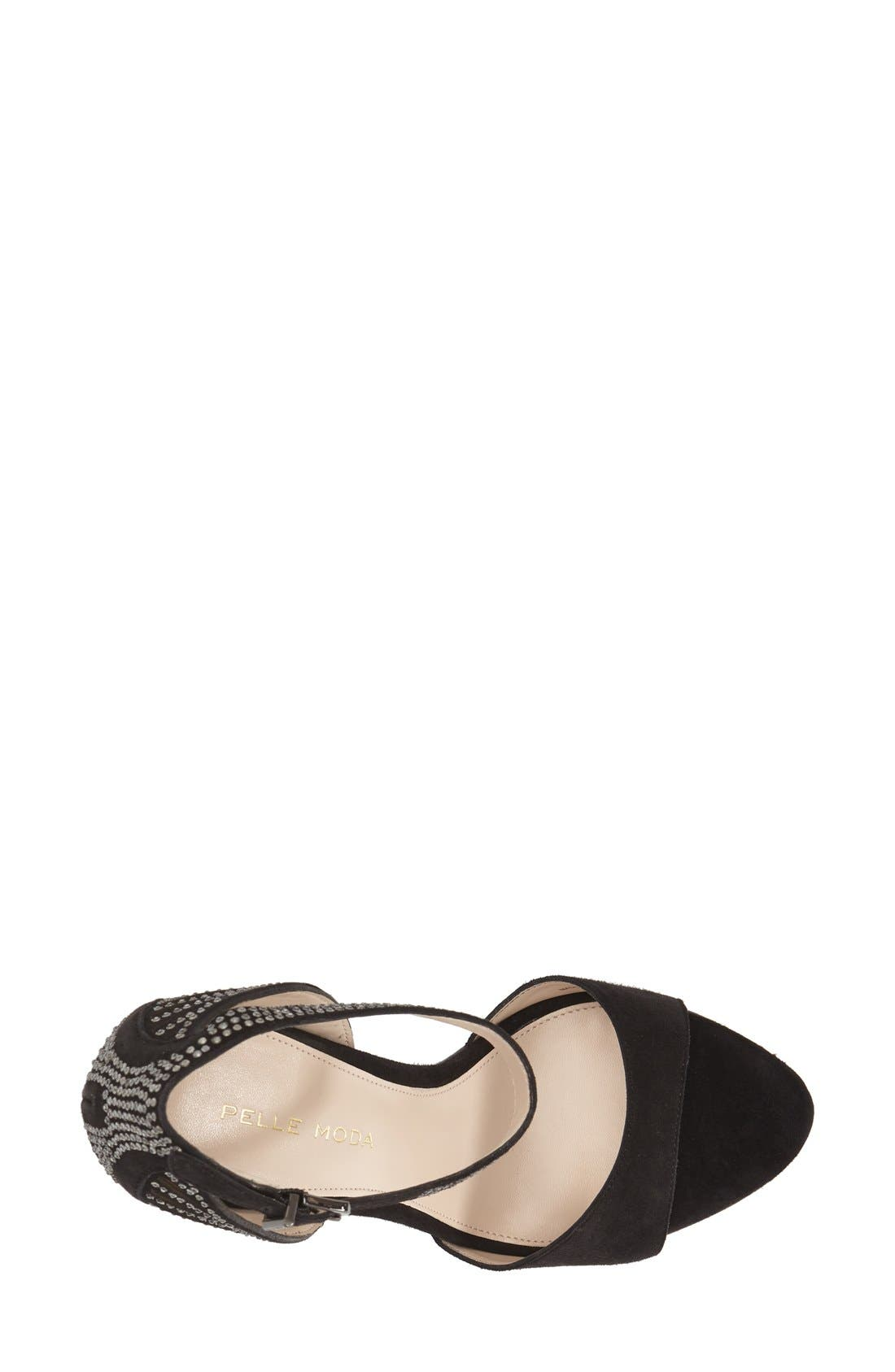 'Fenton' Ankle Strap Sandal,                             Alternate thumbnail 8, color,