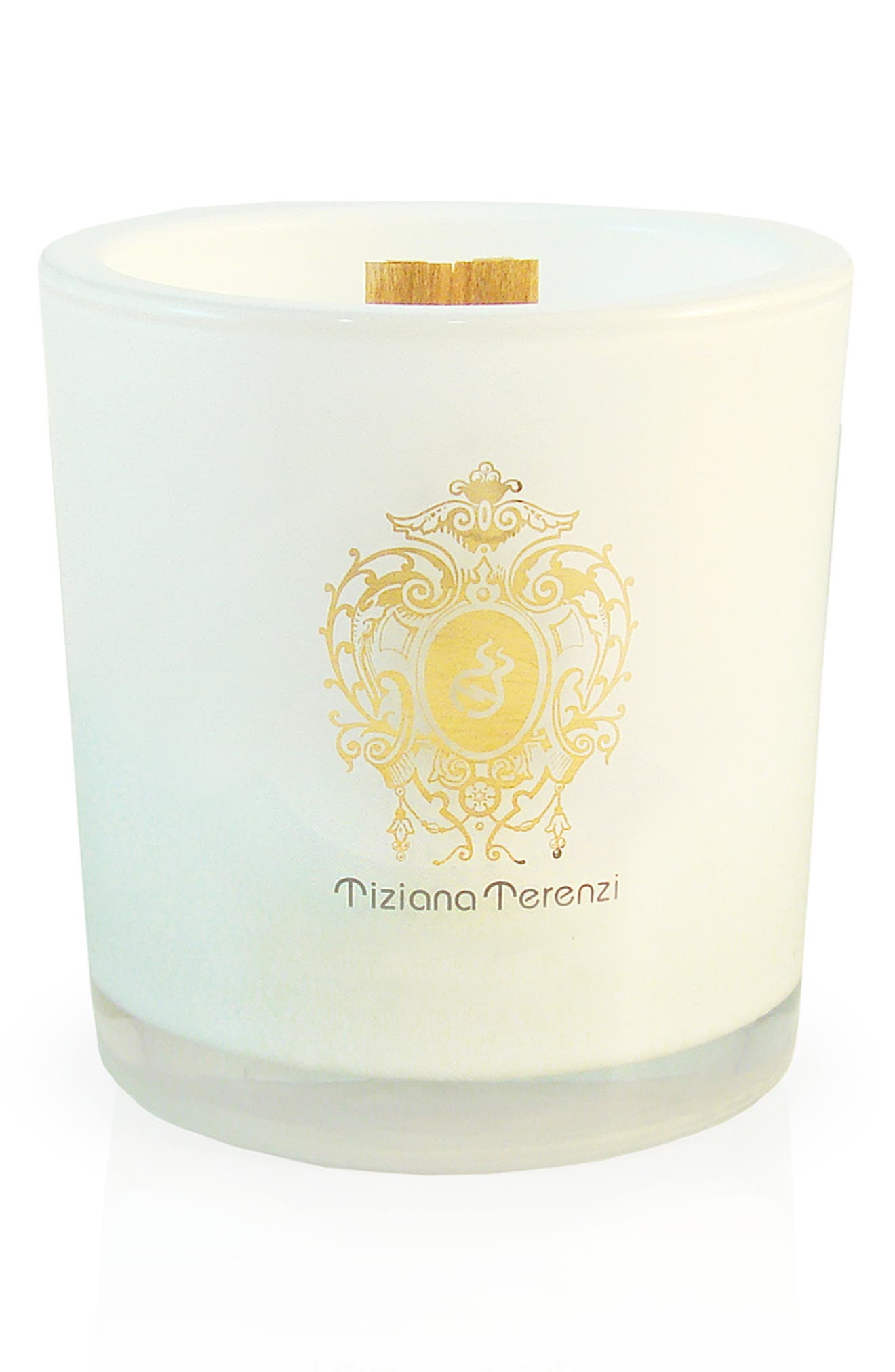 'White Fire' Two-Wick Foco Candle,                             Alternate thumbnail 3, color,                             000