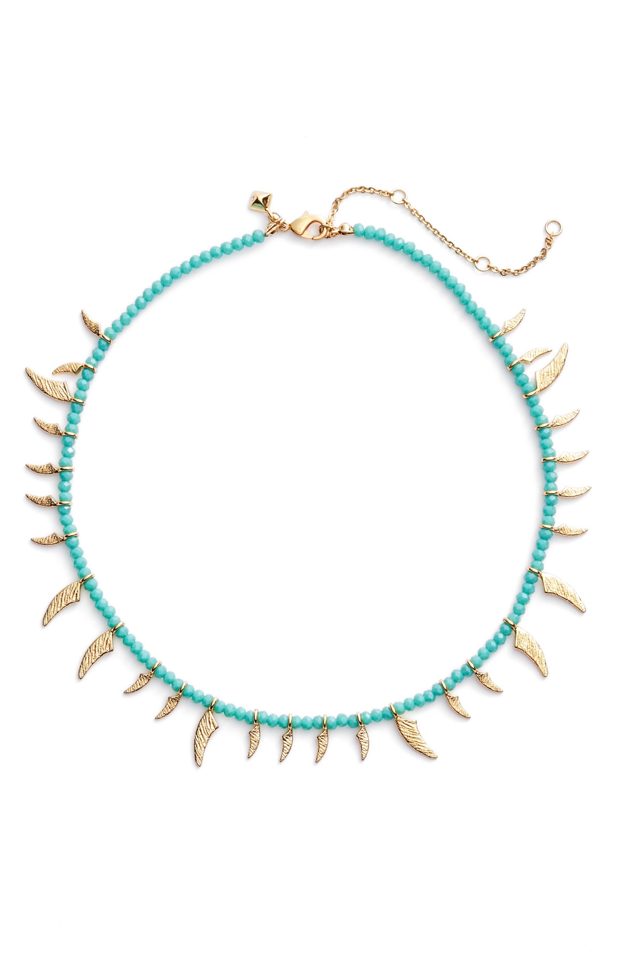 Tiki Collar Necklace,                         Main,                         color, 400