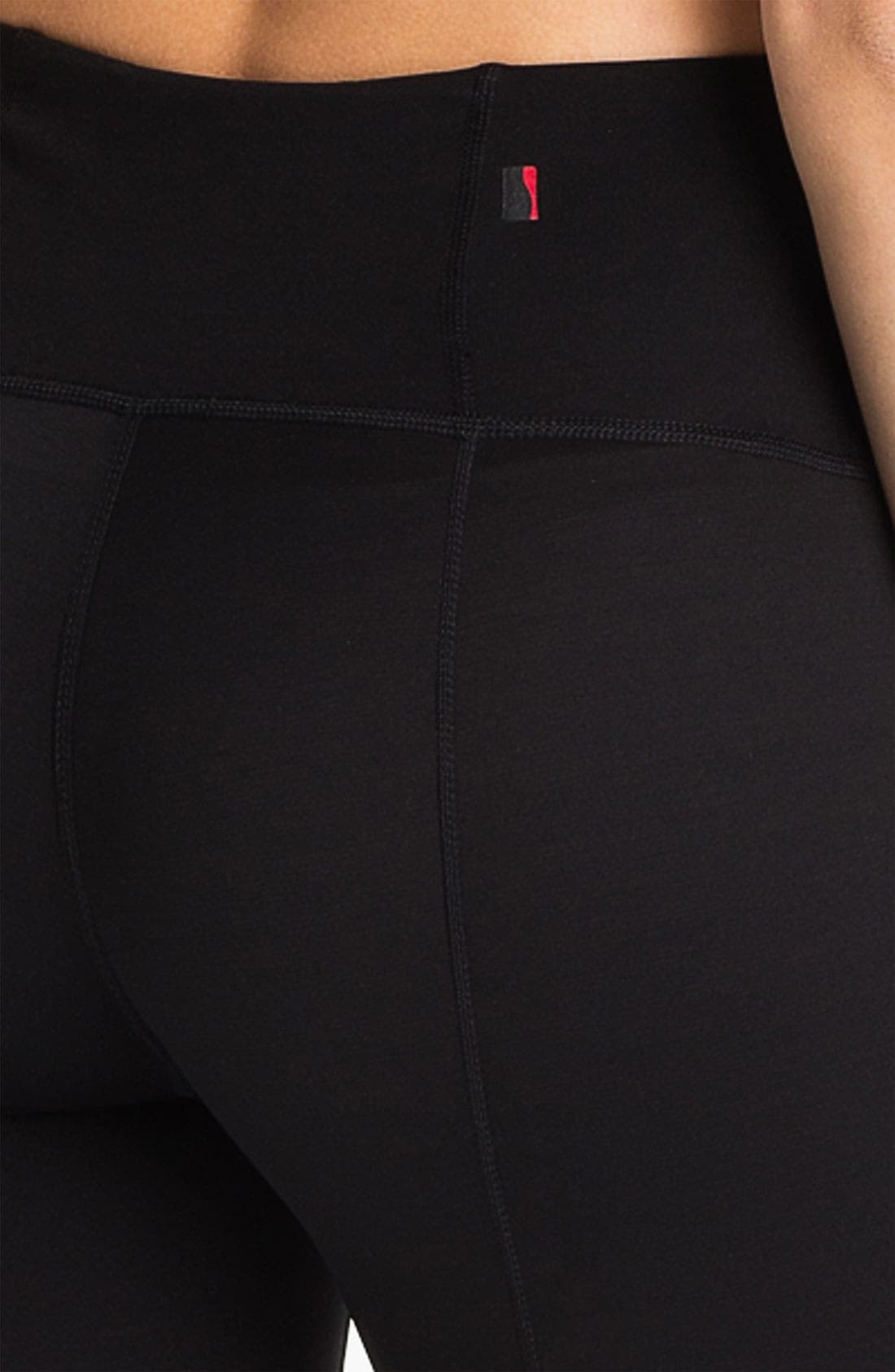 Shaping Compression Activewear Leggings,                             Alternate thumbnail 3, color,                             010