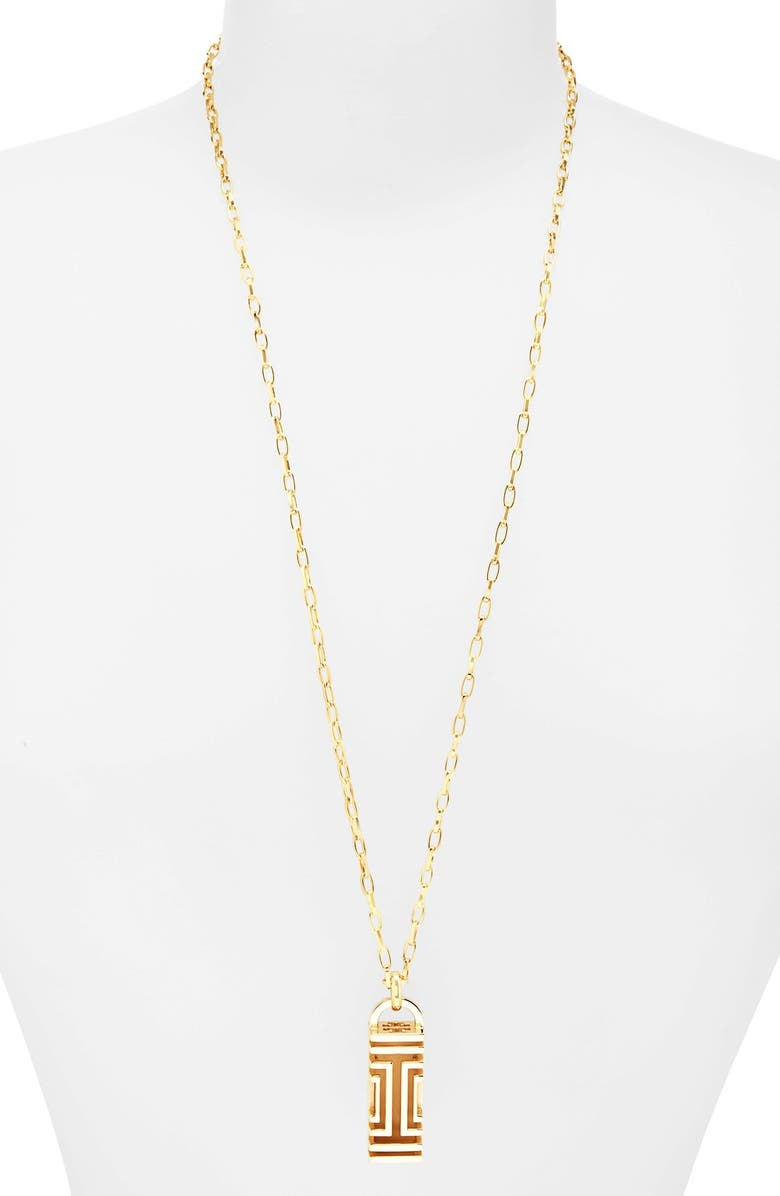 7ed45bf3b20 Tory Burch For Fitbit Pendant Necklace Nordstrom