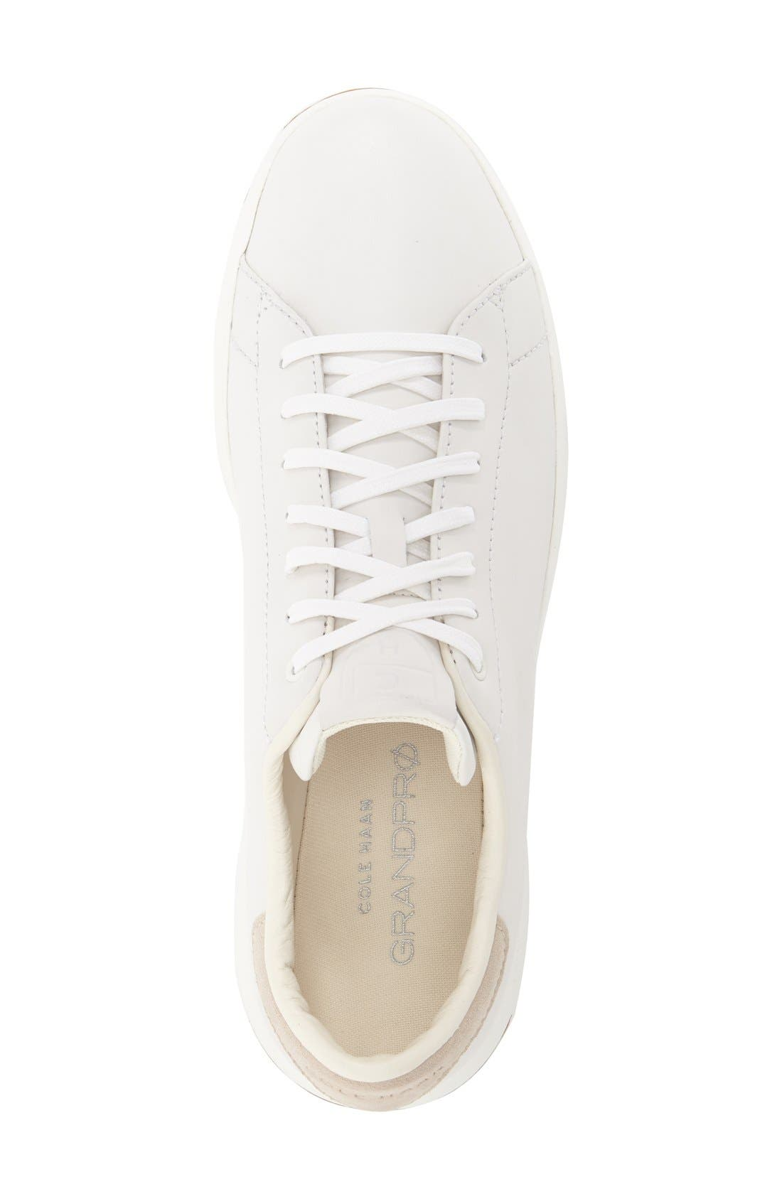GrandPro Tennis Sneaker,                             Alternate thumbnail 7, color,                             WHITE
