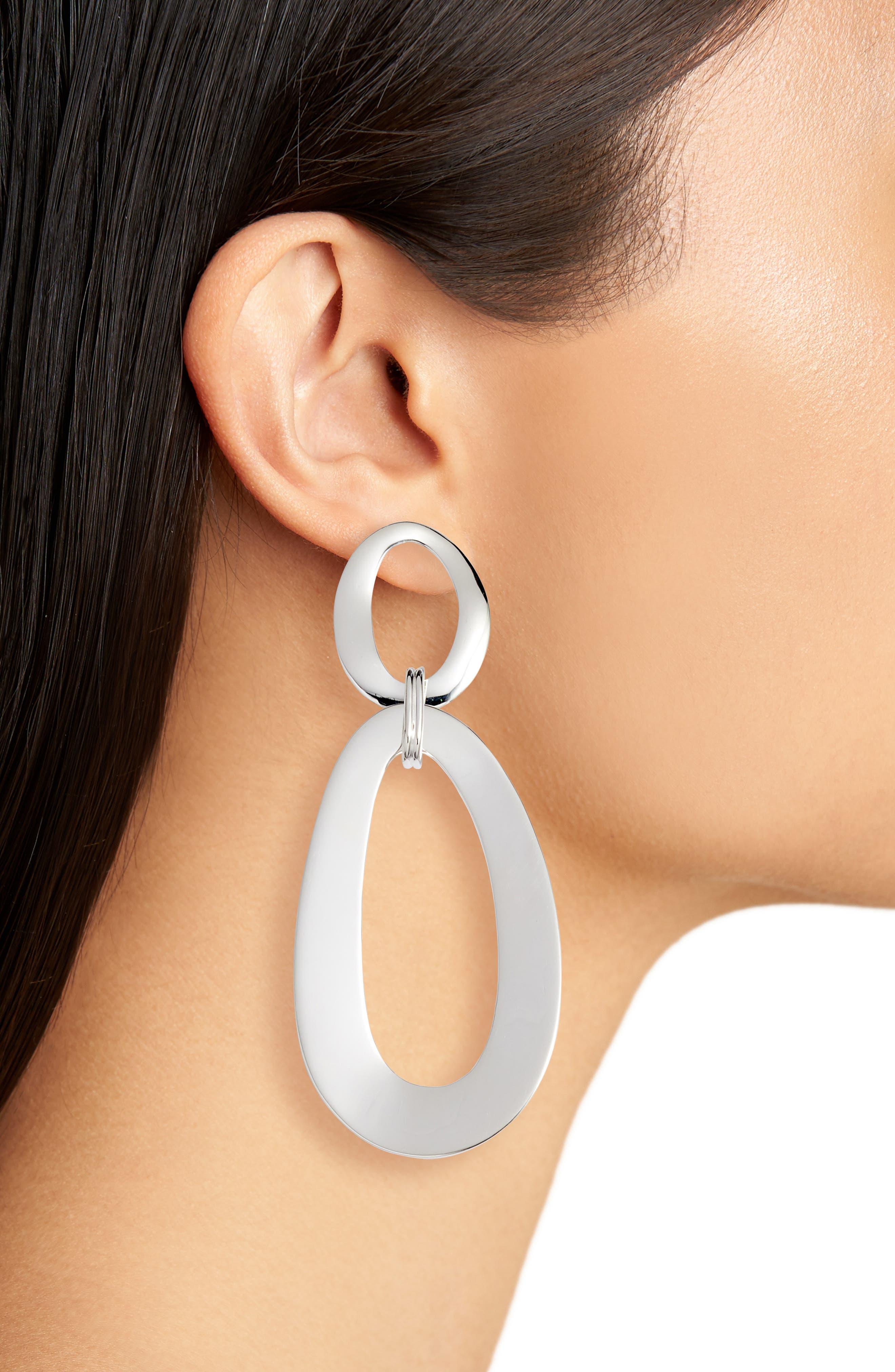 Cherish Extra Large Snowman Earrings,                             Alternate thumbnail 2, color,                             040