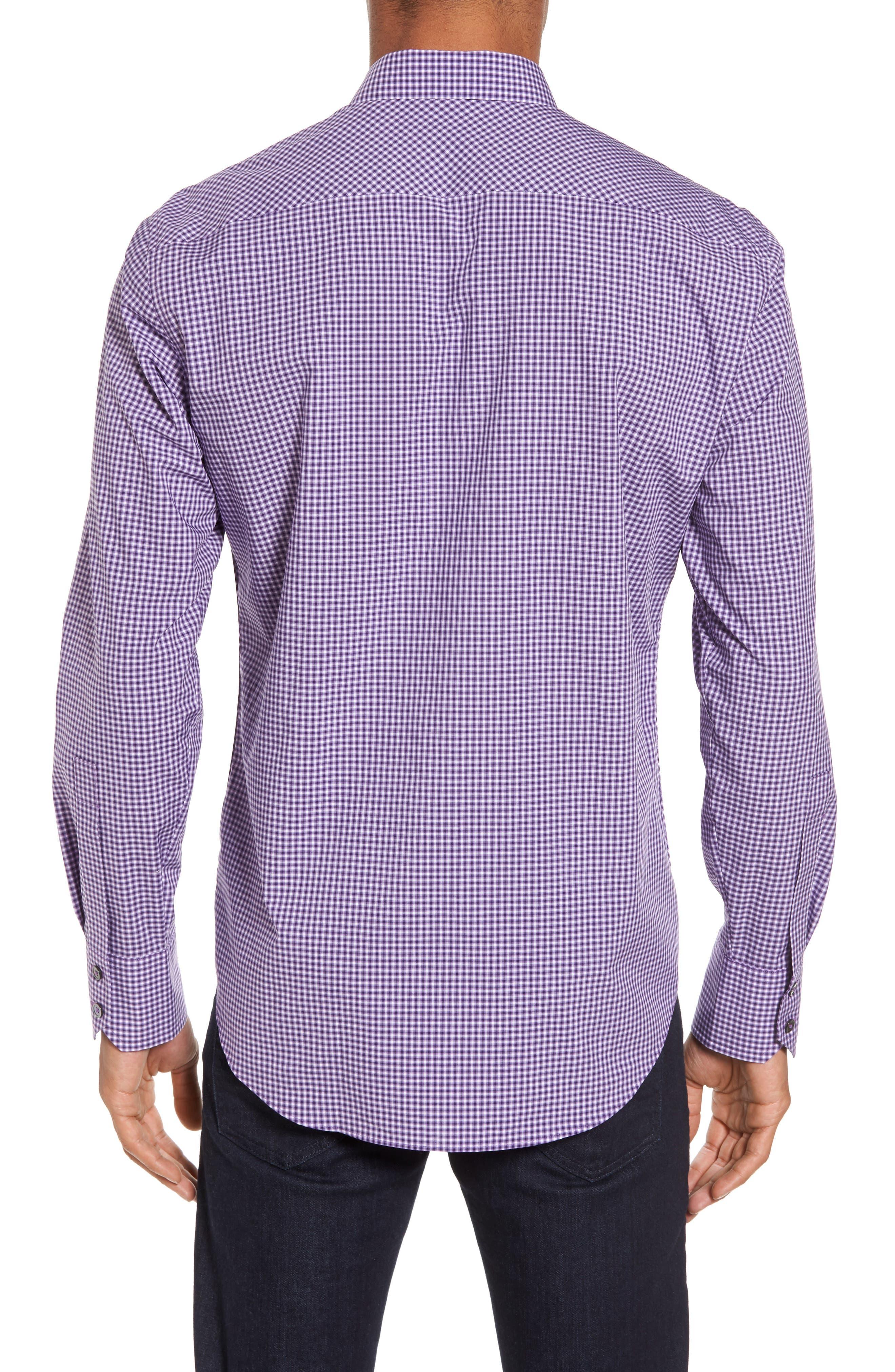 Pawlata Slim Fit Check Sport Shirt,                             Alternate thumbnail 2, color,                             500