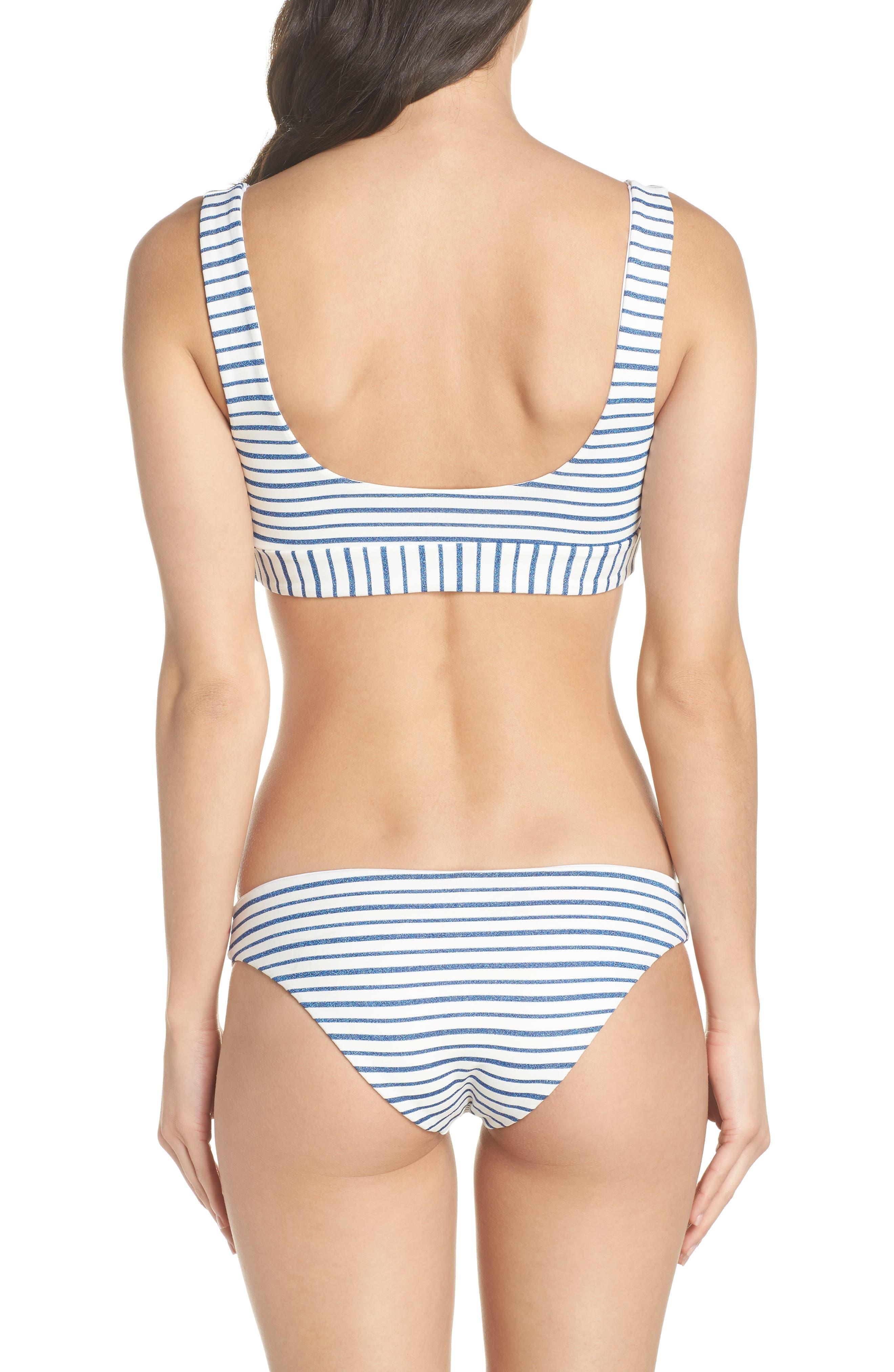 Miller Scoop Bikini Top,                             Alternate thumbnail 8, color,                             ROYAL