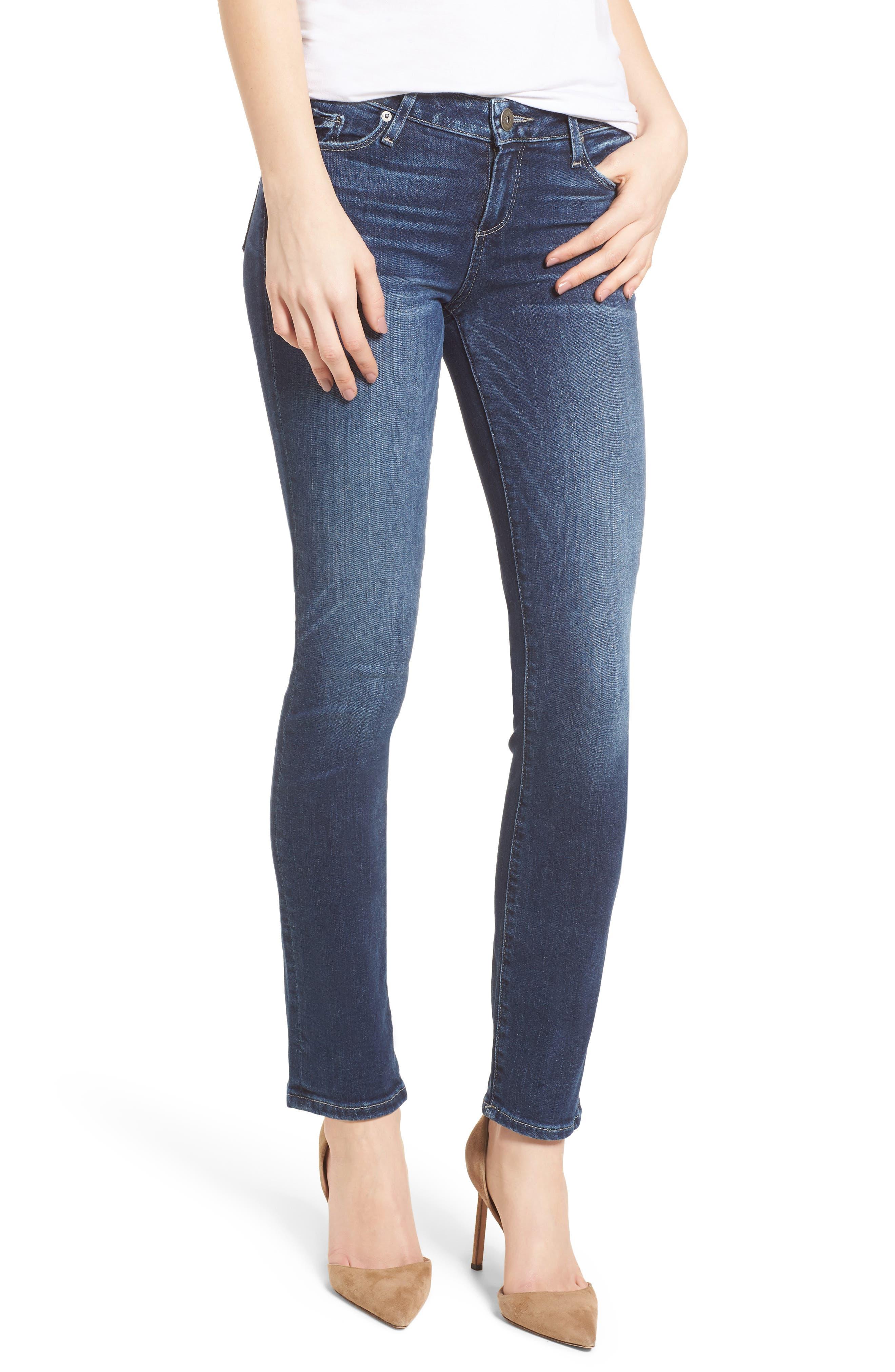Transcend Vintage - Skyline Skinny Jeans,                             Main thumbnail 1, color,                             400
