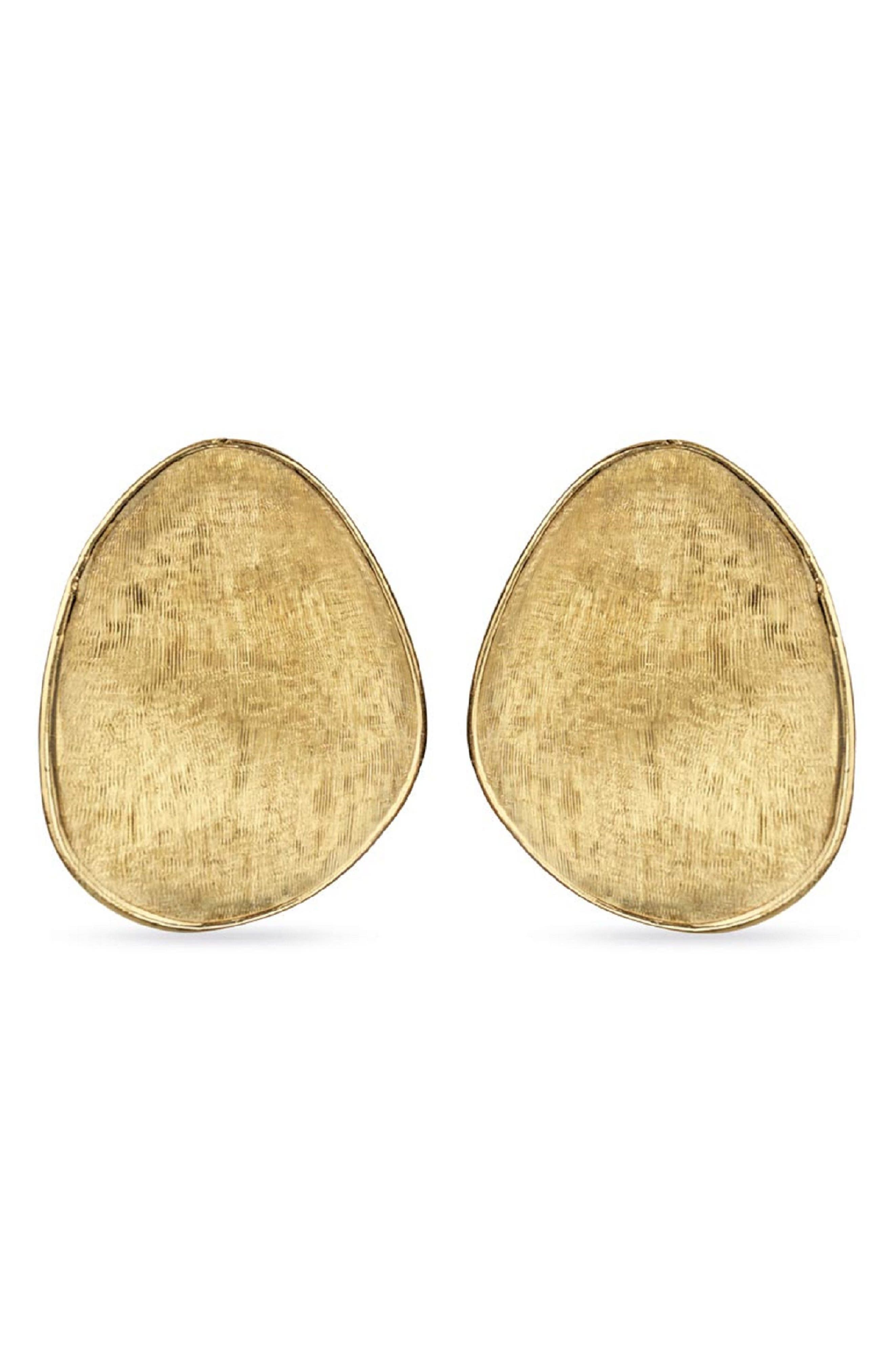 Textured Earrings,                         Main,                         color, YELLOW GOLD