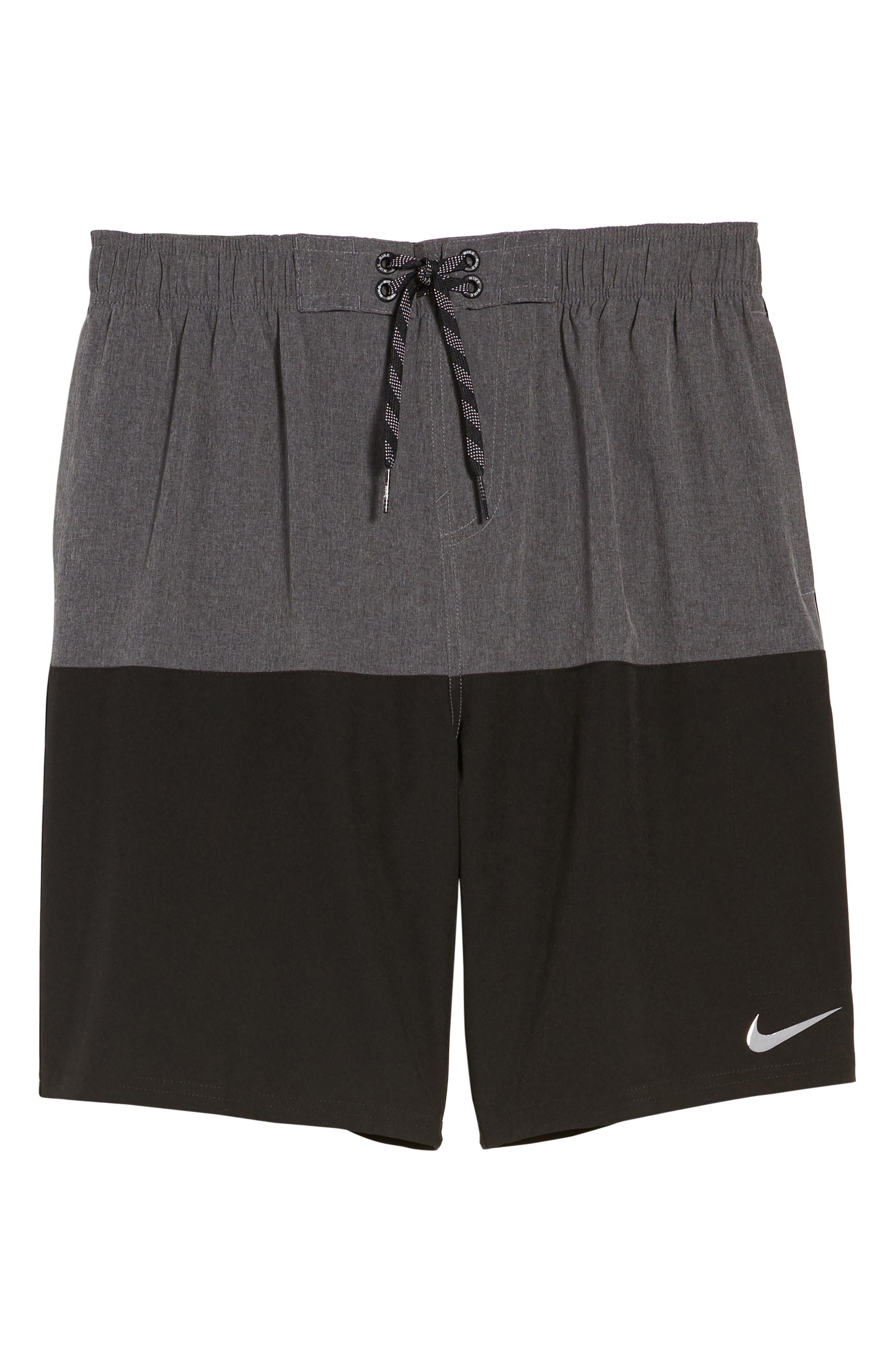 Split Board Shorts,                             Alternate thumbnail 6, color,                             001